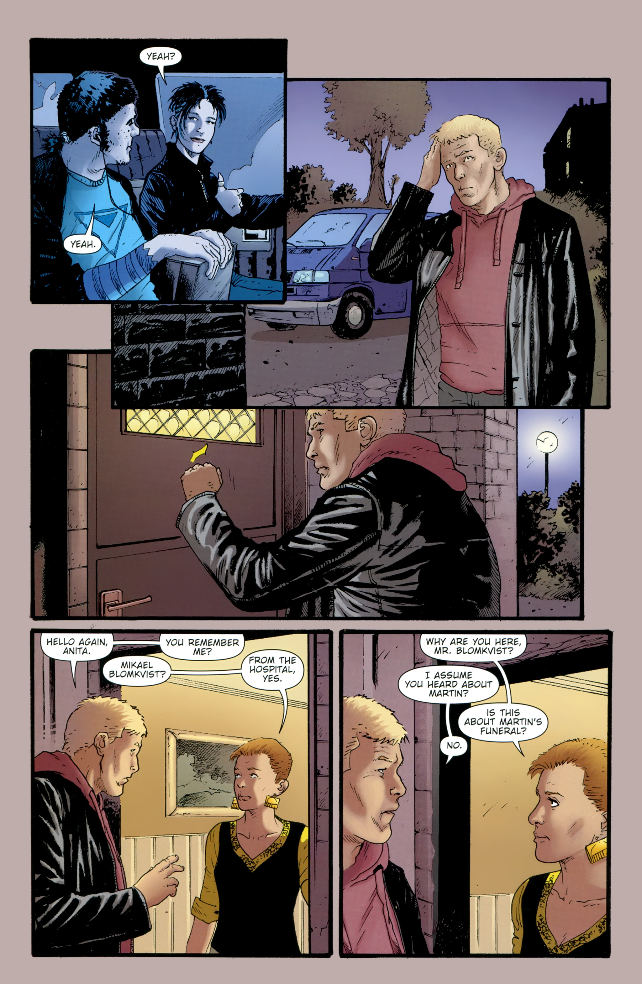 Read online The Girl With the Dragon Tattoo comic -  Issue # TPB 2 - 126