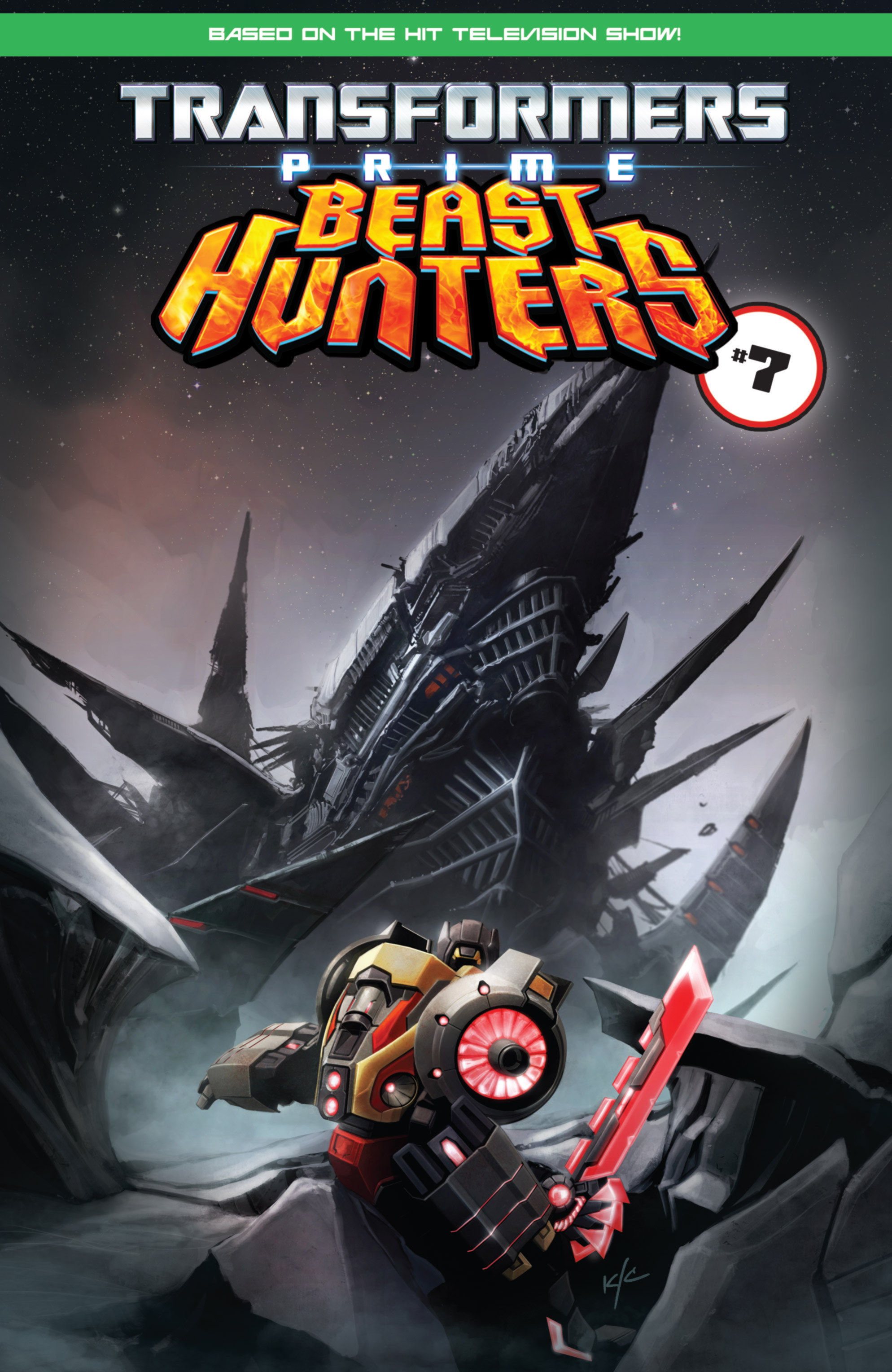 Read online Transformers Prime: Beast Hunters comic -  Issue #6 - 25