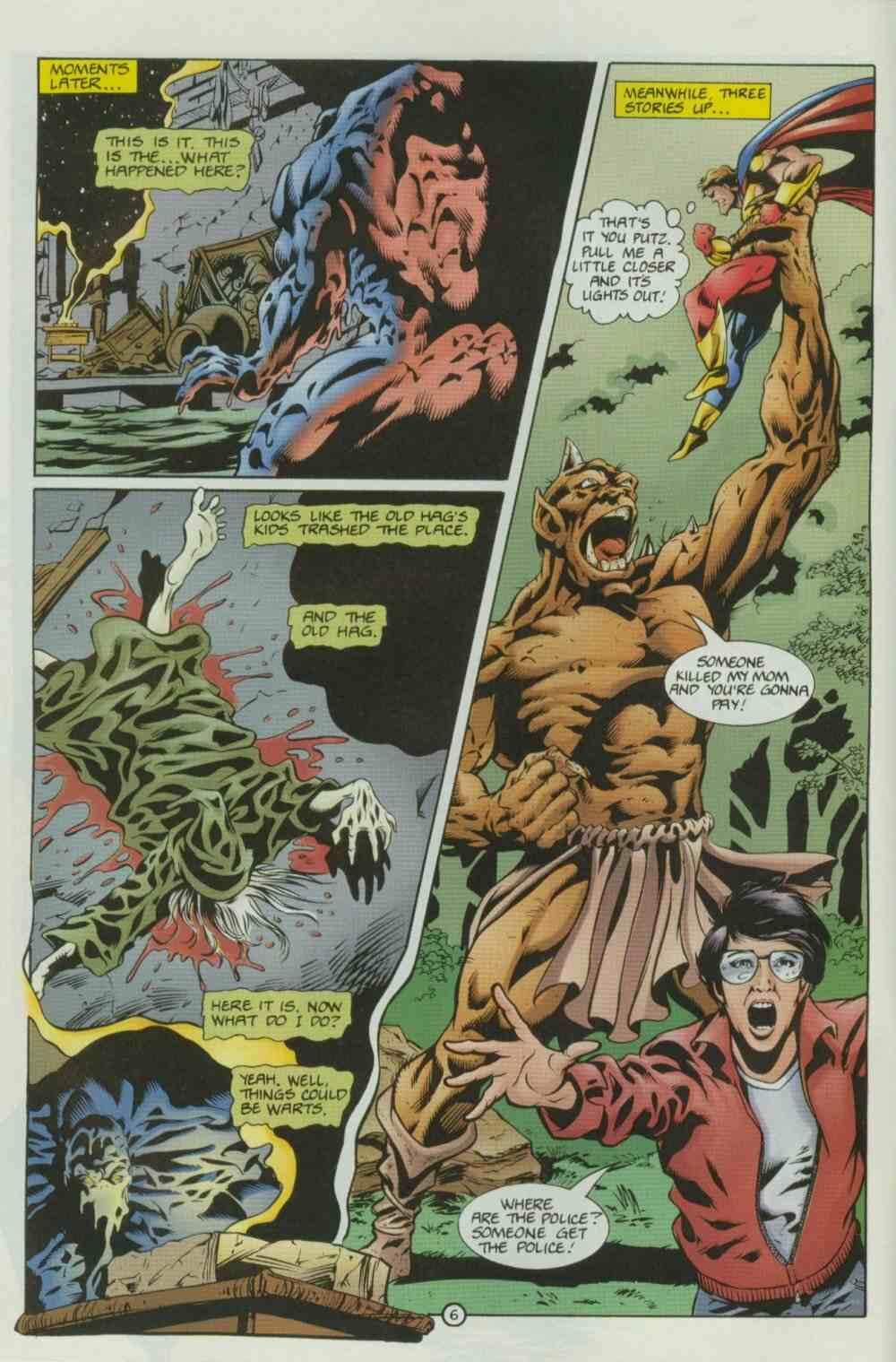 Read online Ultraverse Premiere comic -  Issue #8 - 8