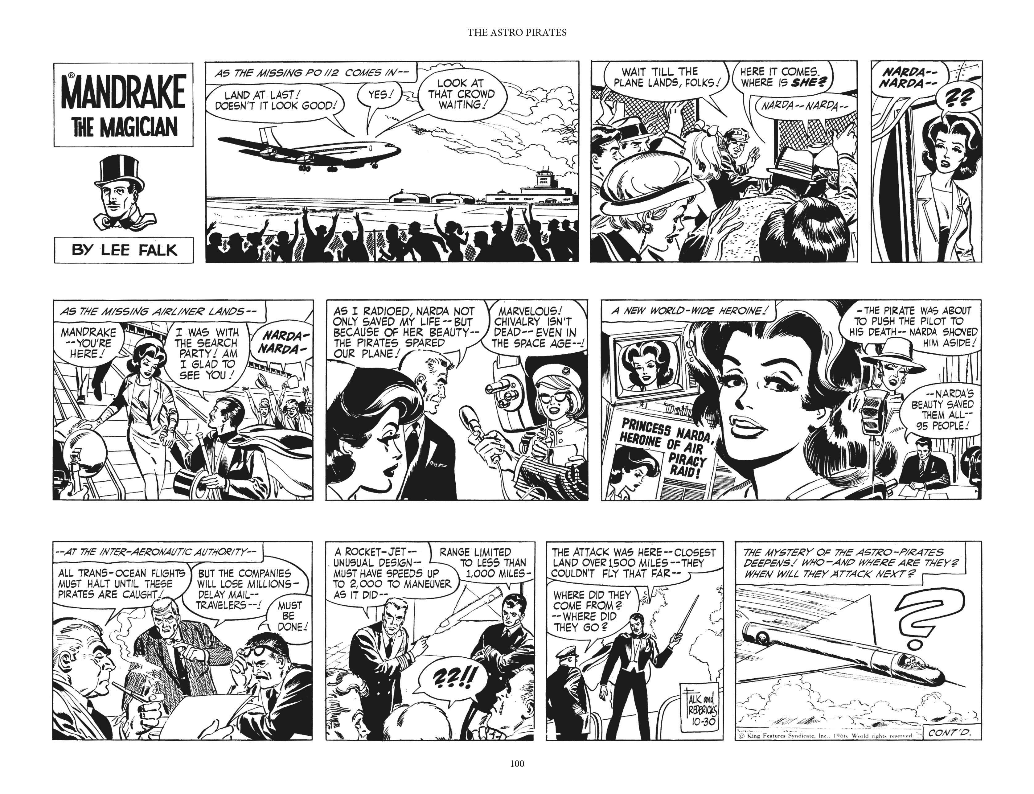 Mandrake the Magician: The Fred Fredricks Sundays TPB_(Part_2) Page 1