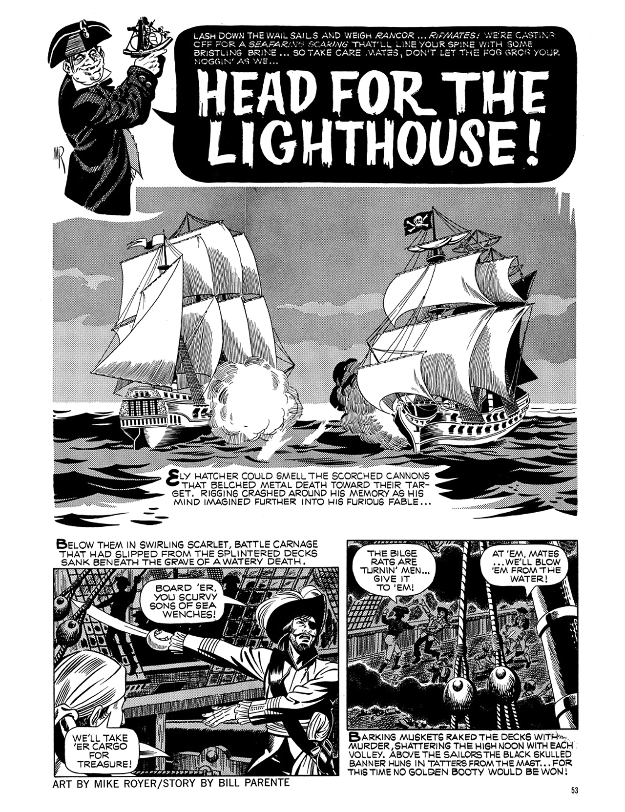 Read online Eerie Archives comic -  Issue # TPB 5 - 54