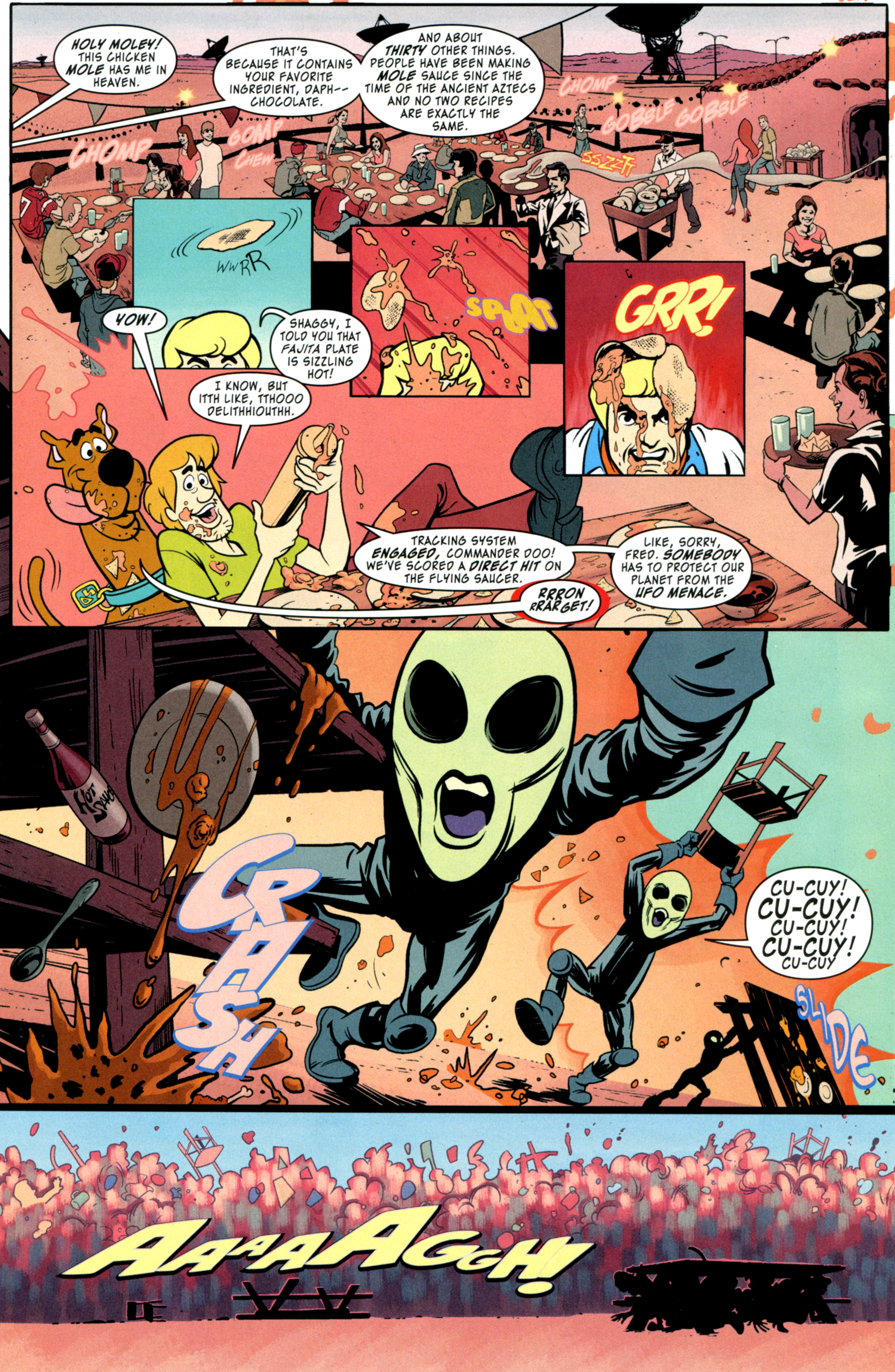 Read online Scooby-Doo: Where Are You? comic -  Issue #34 - 8