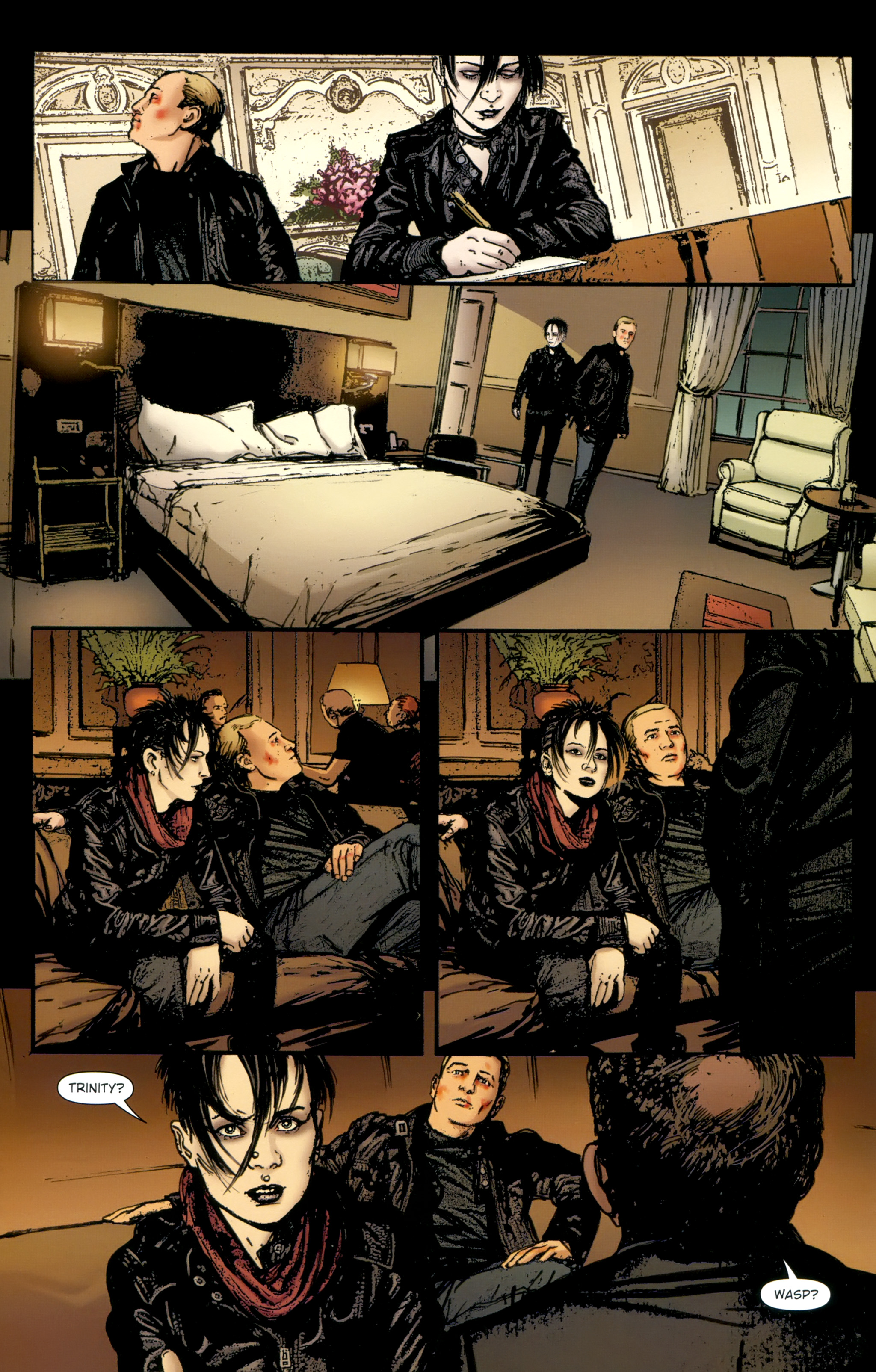 Read online The Girl With the Dragon Tattoo comic -  Issue # TPB 2 - 124
