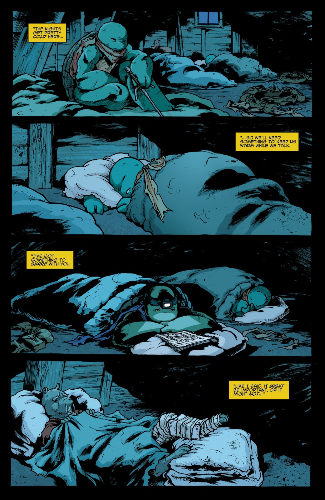 Read online Teenage Mutant Ninja Turtles: The IDW Collection comic -  Issue # TPB 4 (Part 1) - 27