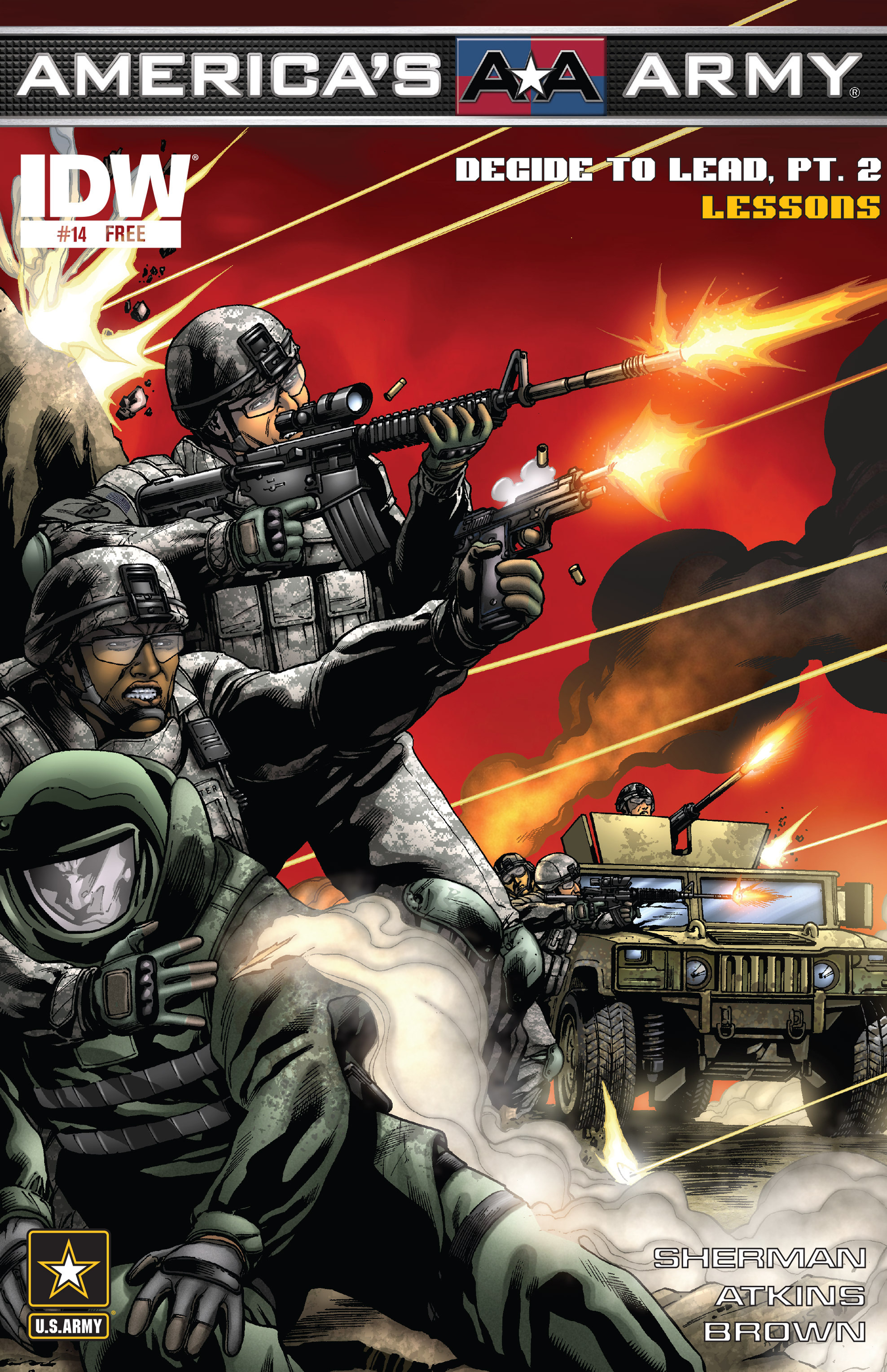 Read online America's Army comic -  Issue #14 - 1