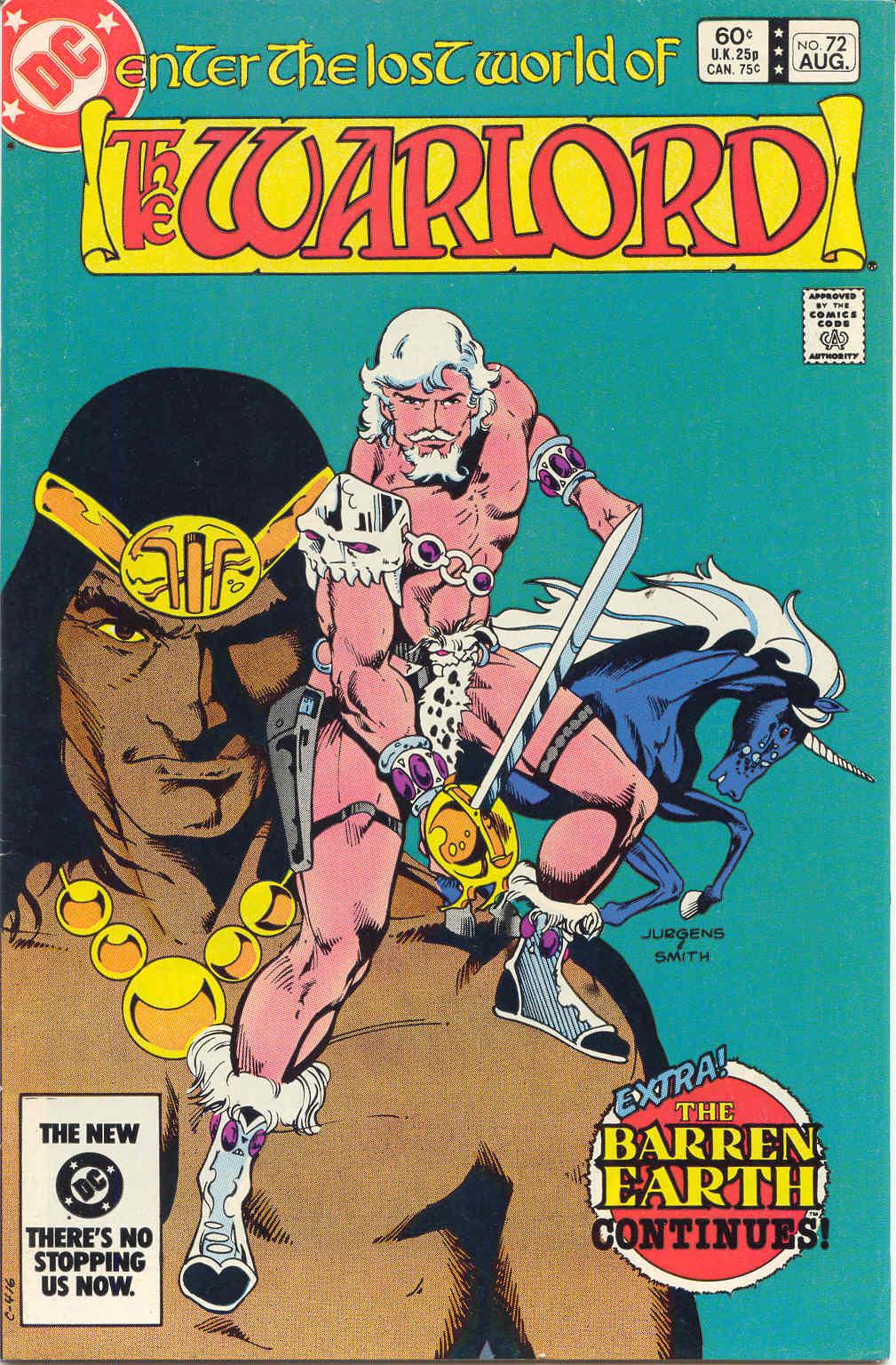 Warlord (1976) 72 Page 1