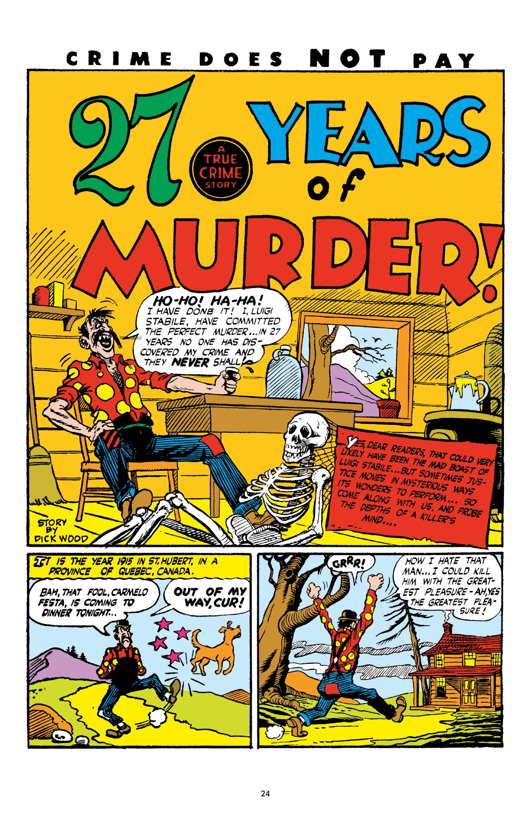 Read online Crime Does Not Pay Archives comic -  Issue # TPB 4 (Part 1) - 24