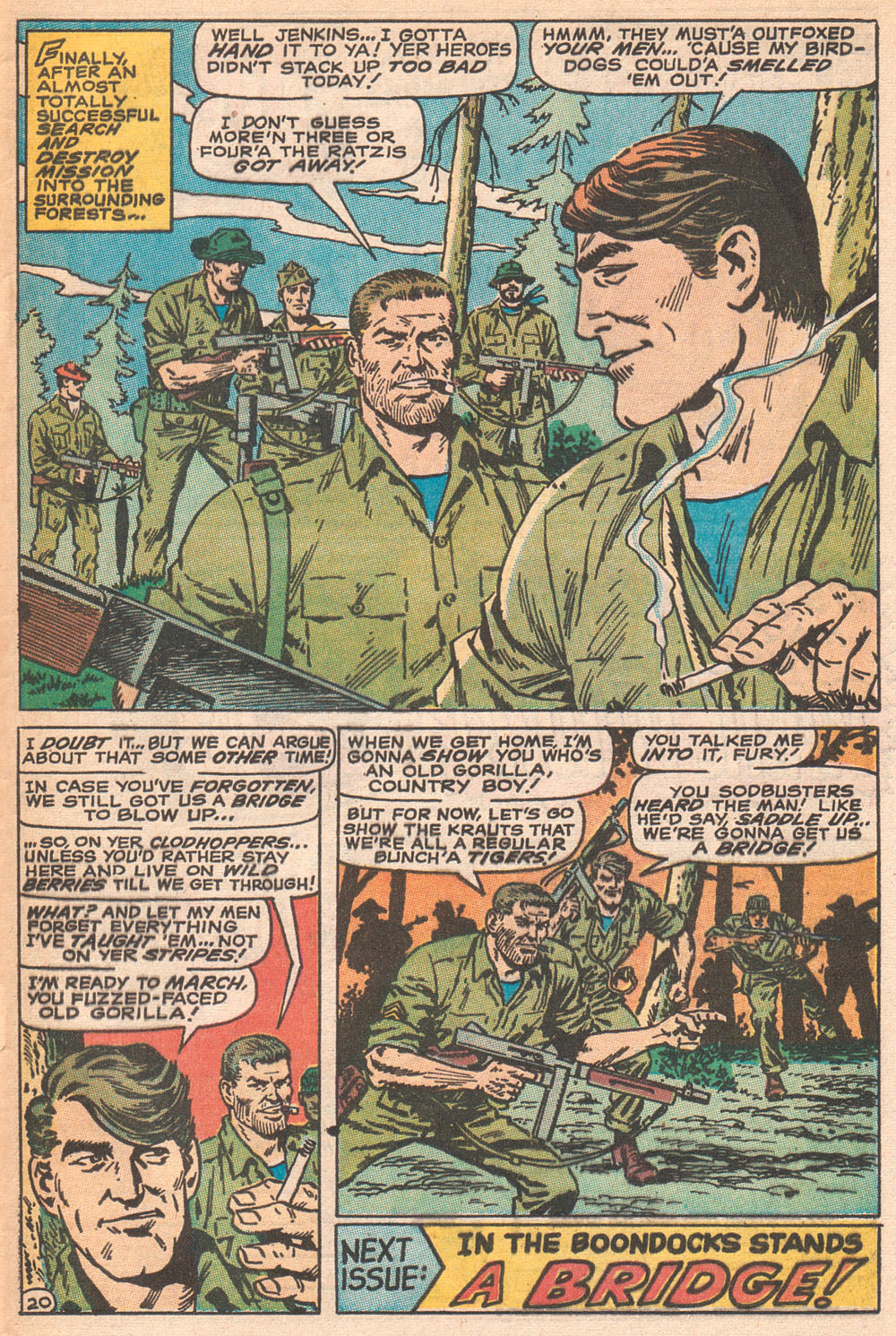 Read online Sgt. Fury comic -  Issue #70 - 29