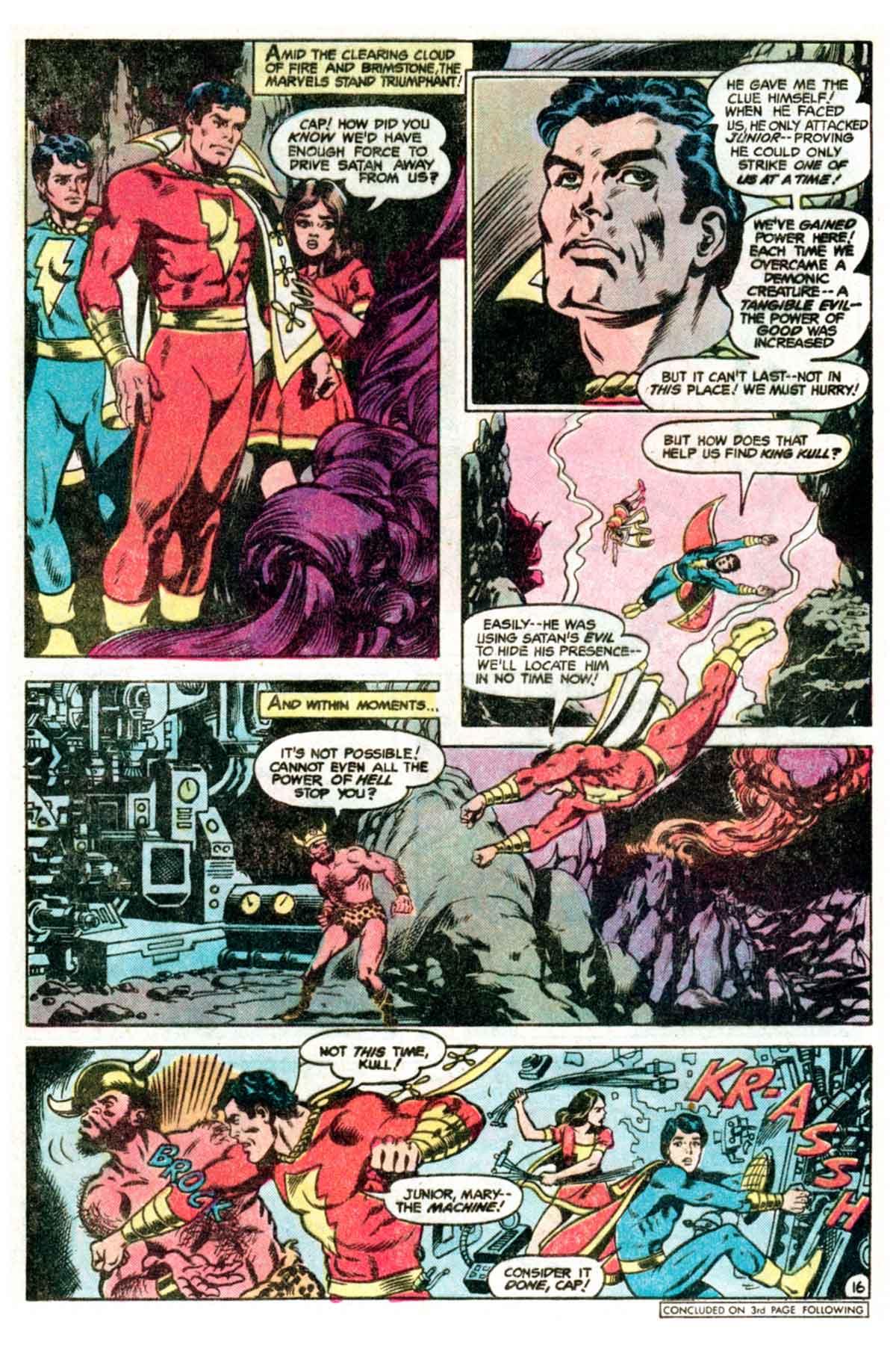 Read online Shazam! (1973) comic -  Issue #35 - 17