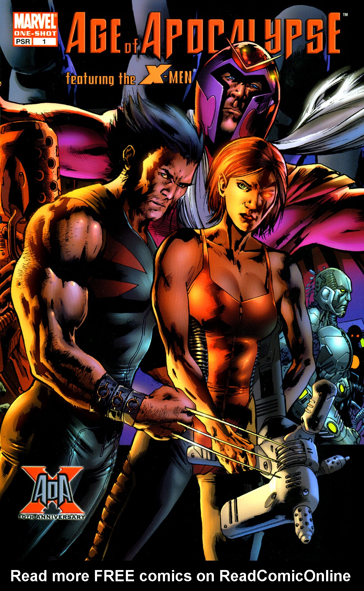 Read online X-Men: Age of Apocalypse One-Shot comic -  Issue # Full - 1