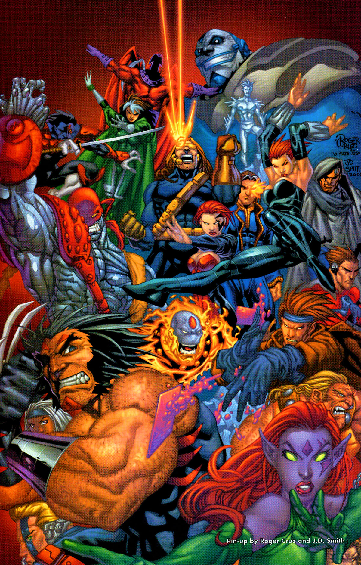Read online X-Men: Age of Apocalypse One-Shot comic -  Issue # Full - 36