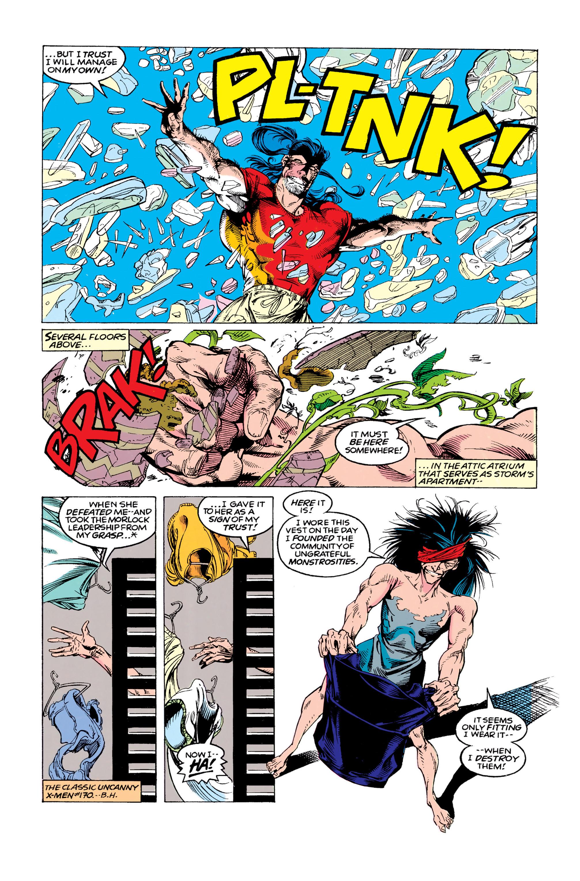 Read online Uncanny X-Men (1963) comic -  Issue #292 - 15
