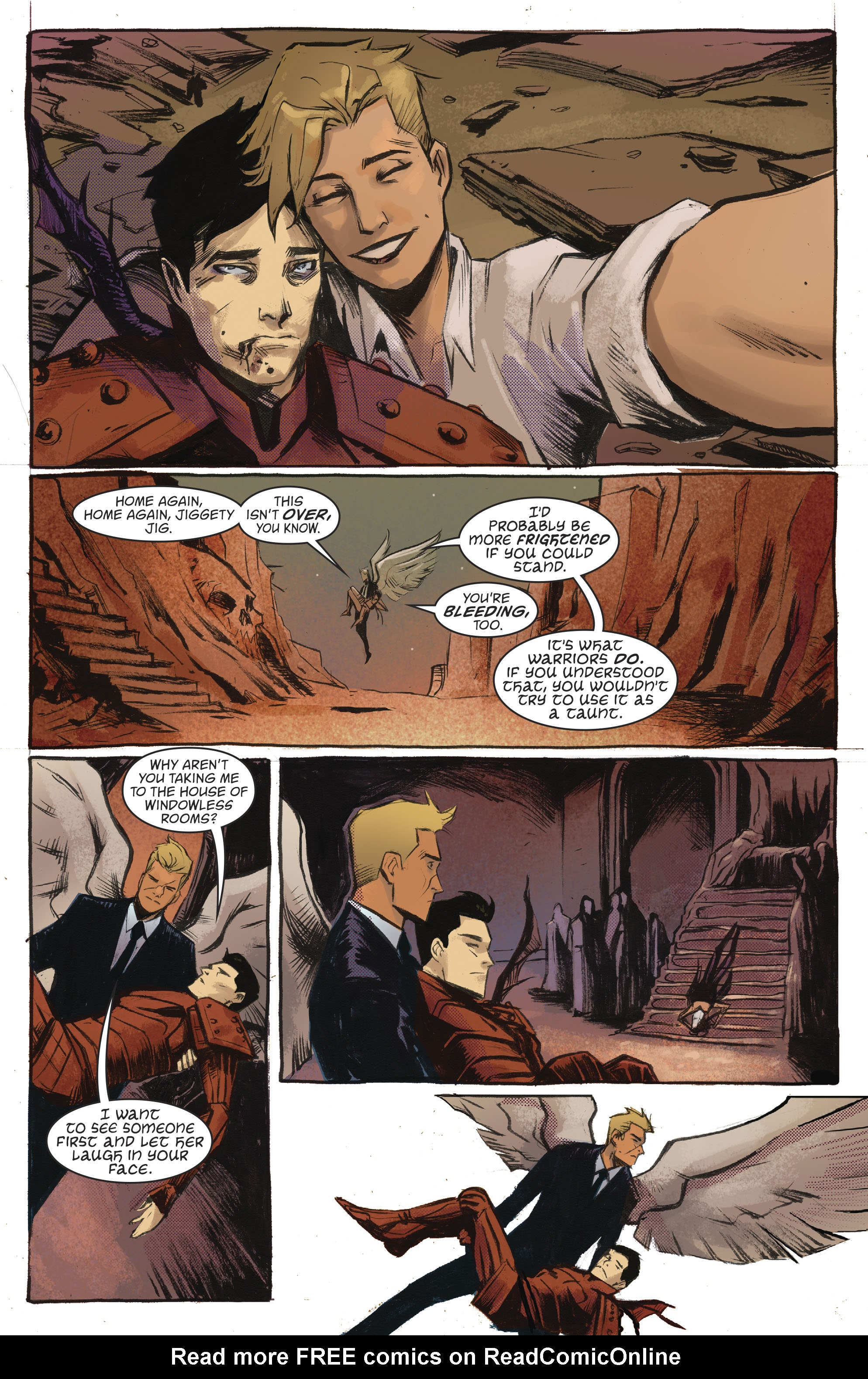 Read online Lucifer (2016) comic -  Issue #18 - 10