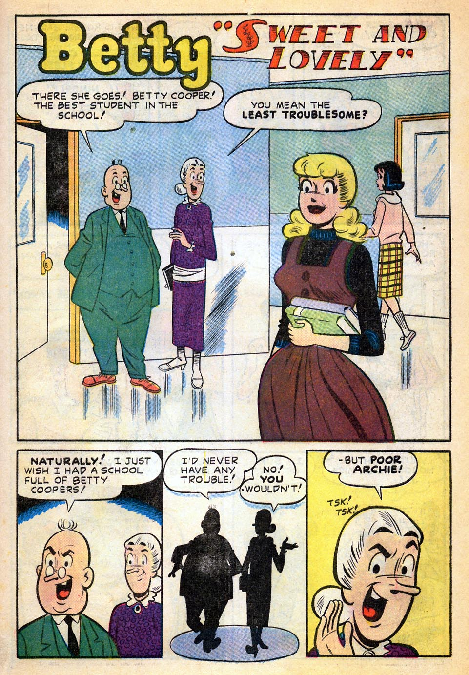 Read online Archie's Girls Betty and Veronica comic -  Issue #51 - 28