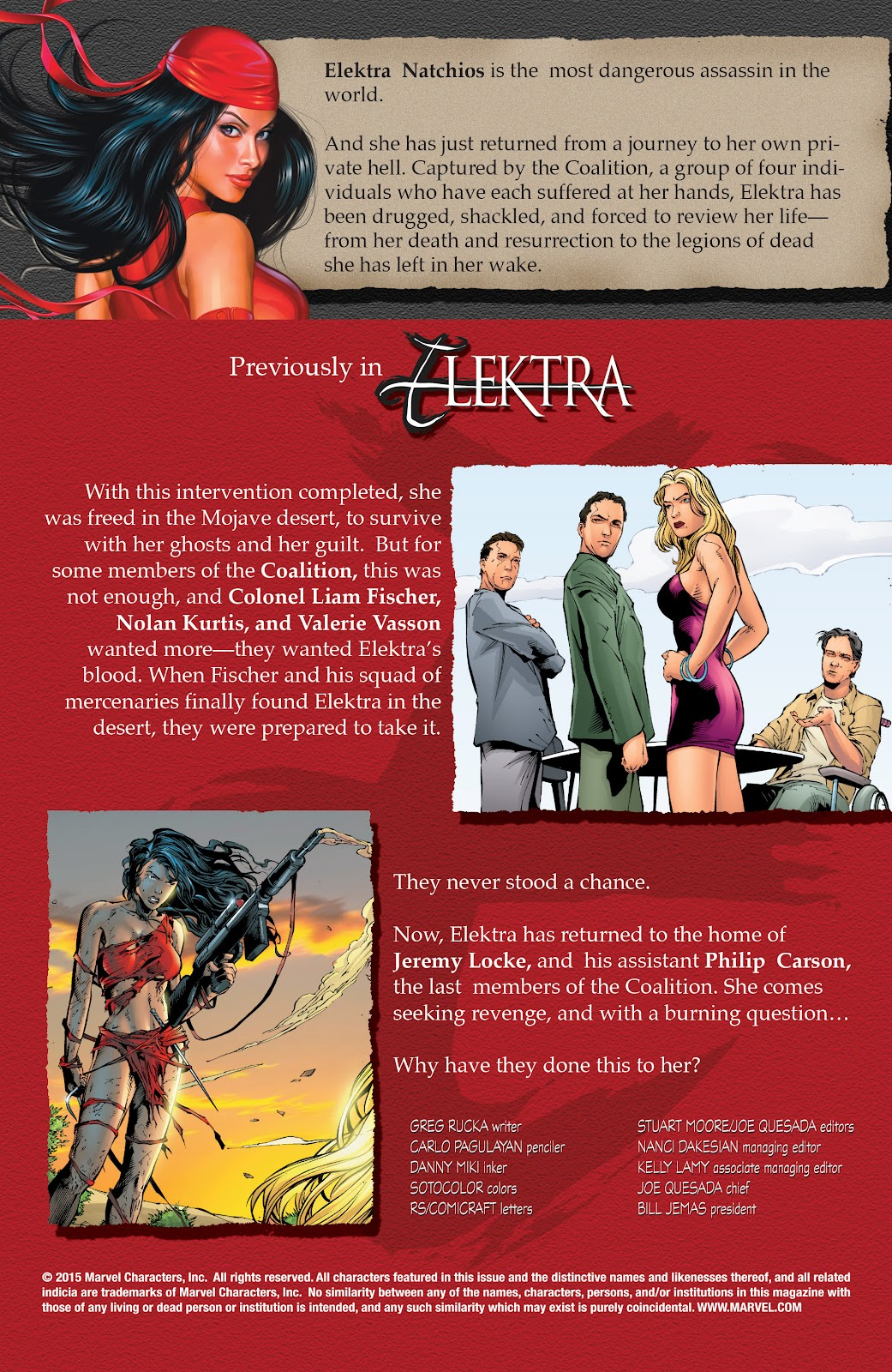 Read online Elektra (2001) comic -  Issue # _TPB Elektra by Greg Rucka Ultimate Collection (Part 2) - 100