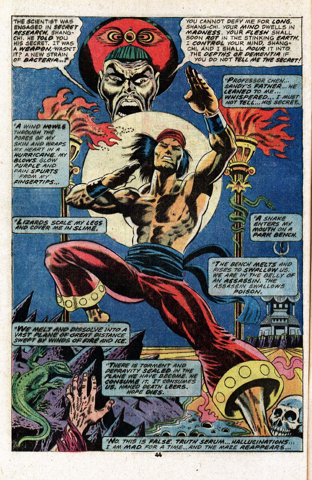 Read online Giant-Size Master of Kung Fu comic -  Issue #2 - 37