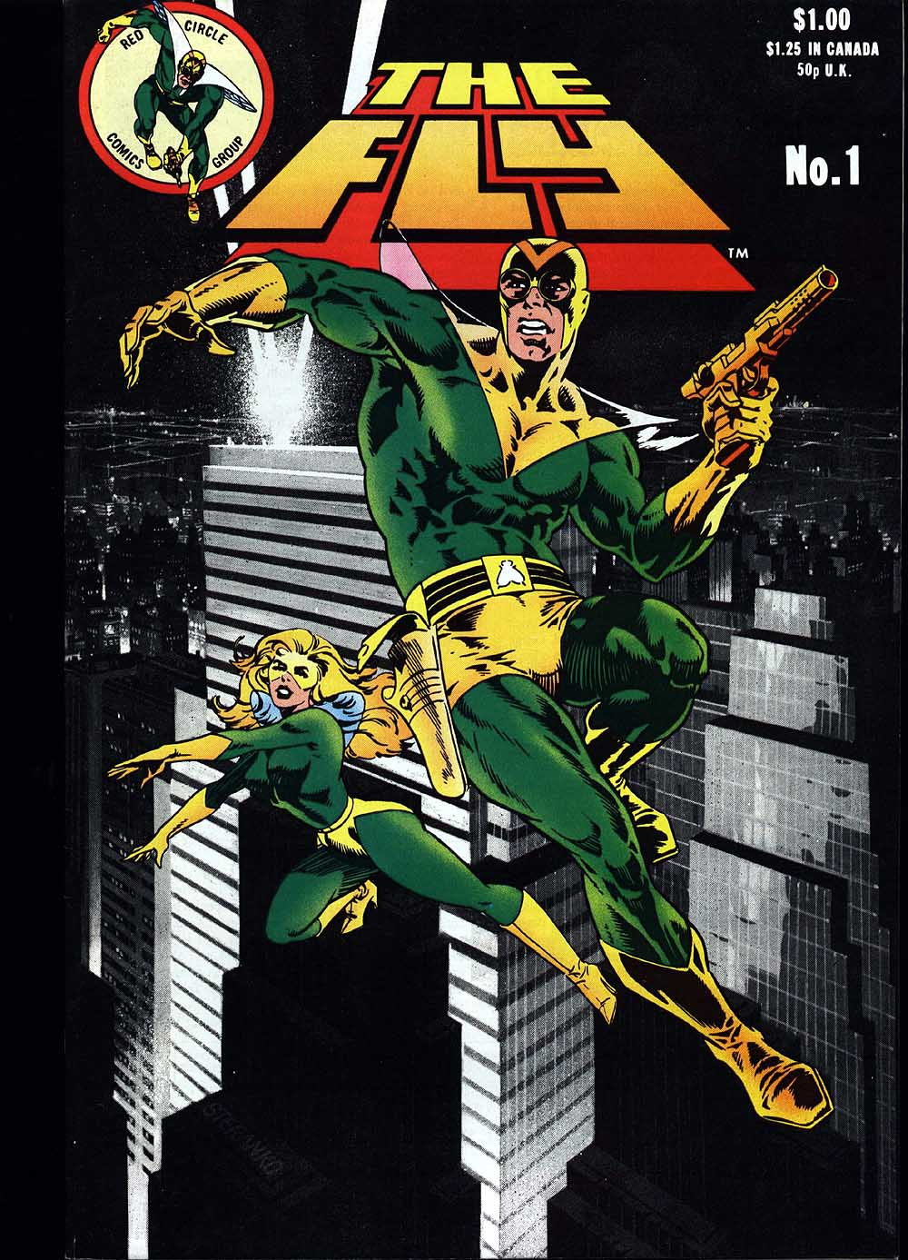 Read online The Fly (1983) comic -  Issue #1 - 1