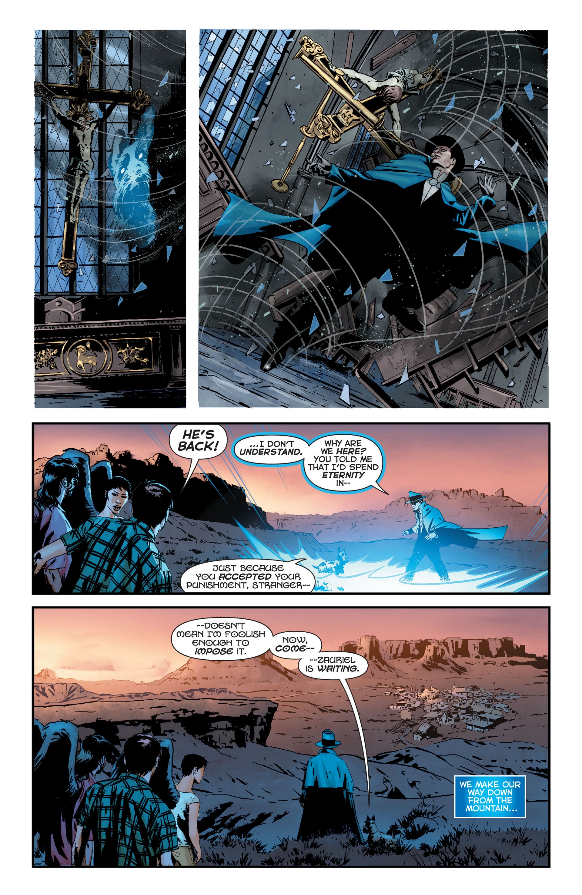 Read online Trinity of Sin: The Phantom Stranger comic -  Issue #22 - 16