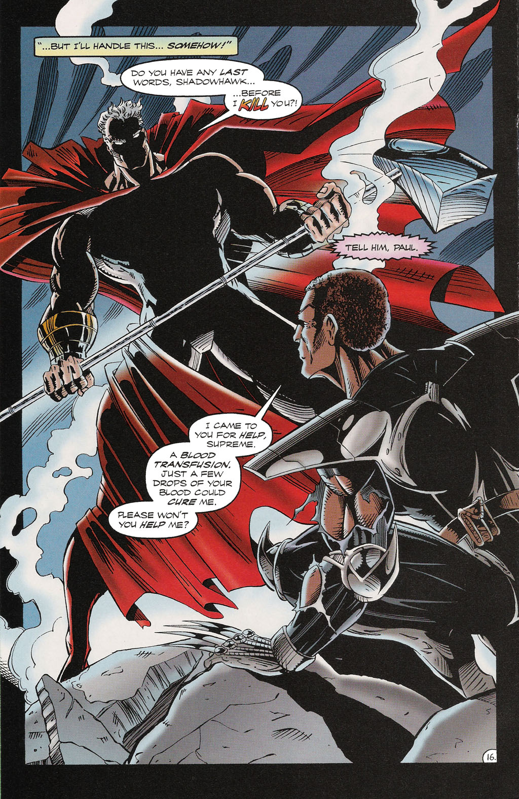 Read online ShadowHawk comic -  Issue #16 - 15