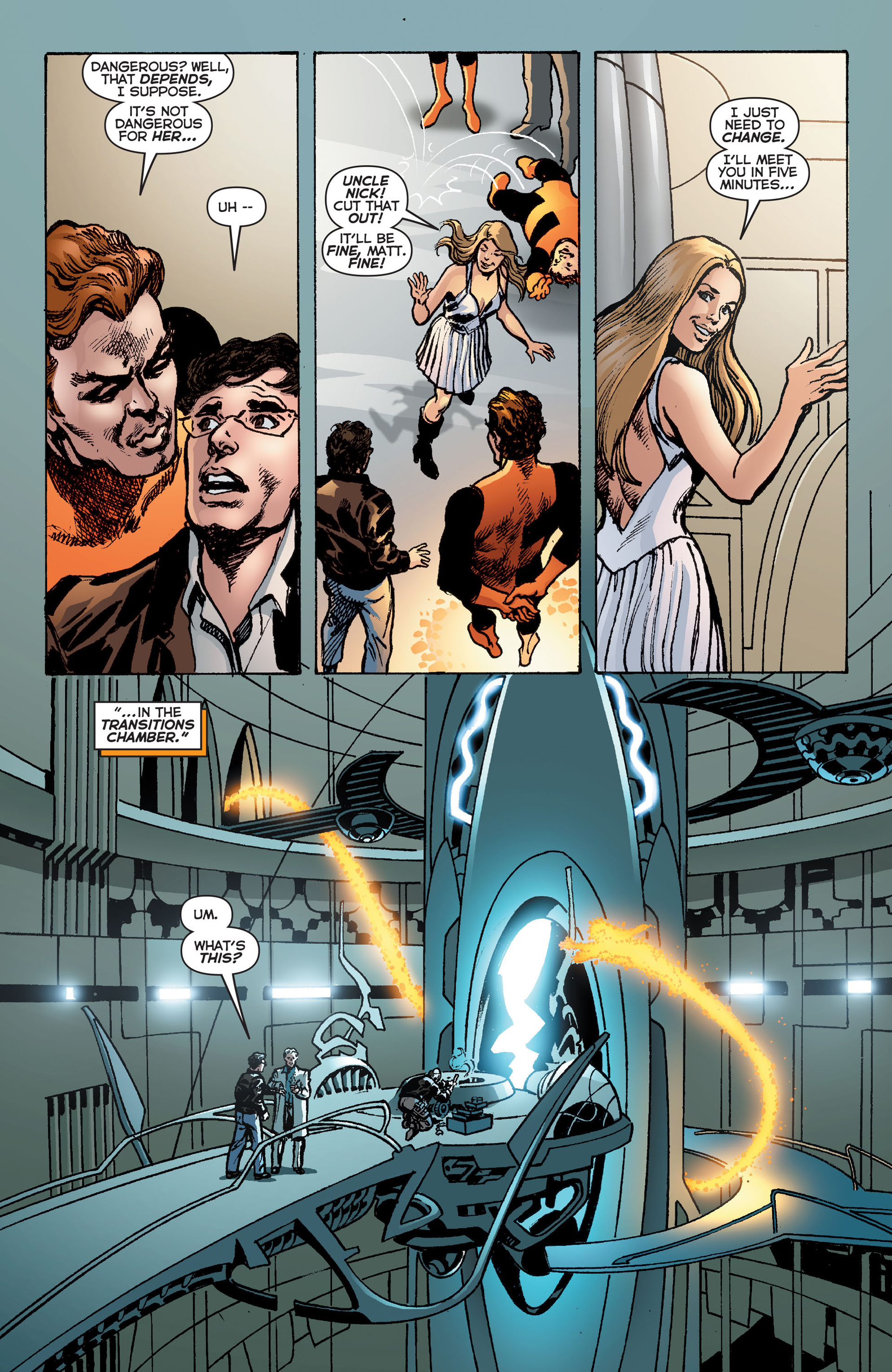 Read online Astro City: Astra Special comic -  Issue #1 - 22