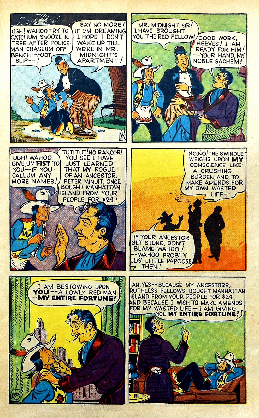 Read online Famous Funnies comic -  Issue #145 - 23