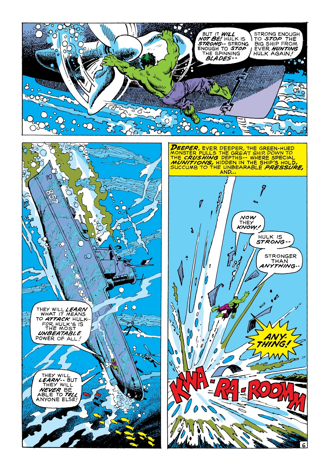 Read online Marvel Masterworks: The Incredible Hulk comic -  Issue # TPB 8 (Part 1) - 13