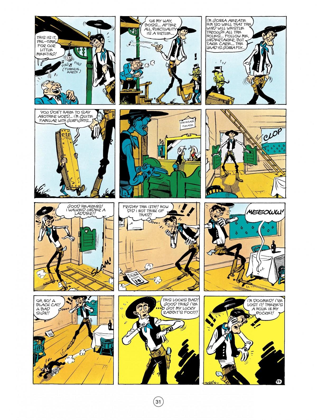 Read online A Lucky Luke Adventure comic -  Issue #40 - 31