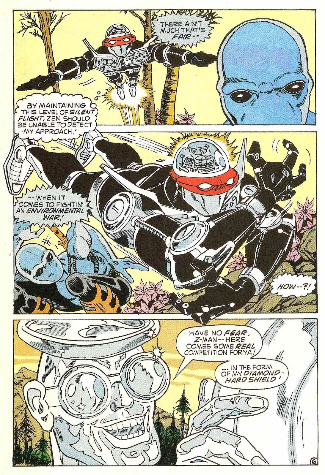 Read online Zen Intergalactic Ninja (1992) comic -  Issue #1 - 7