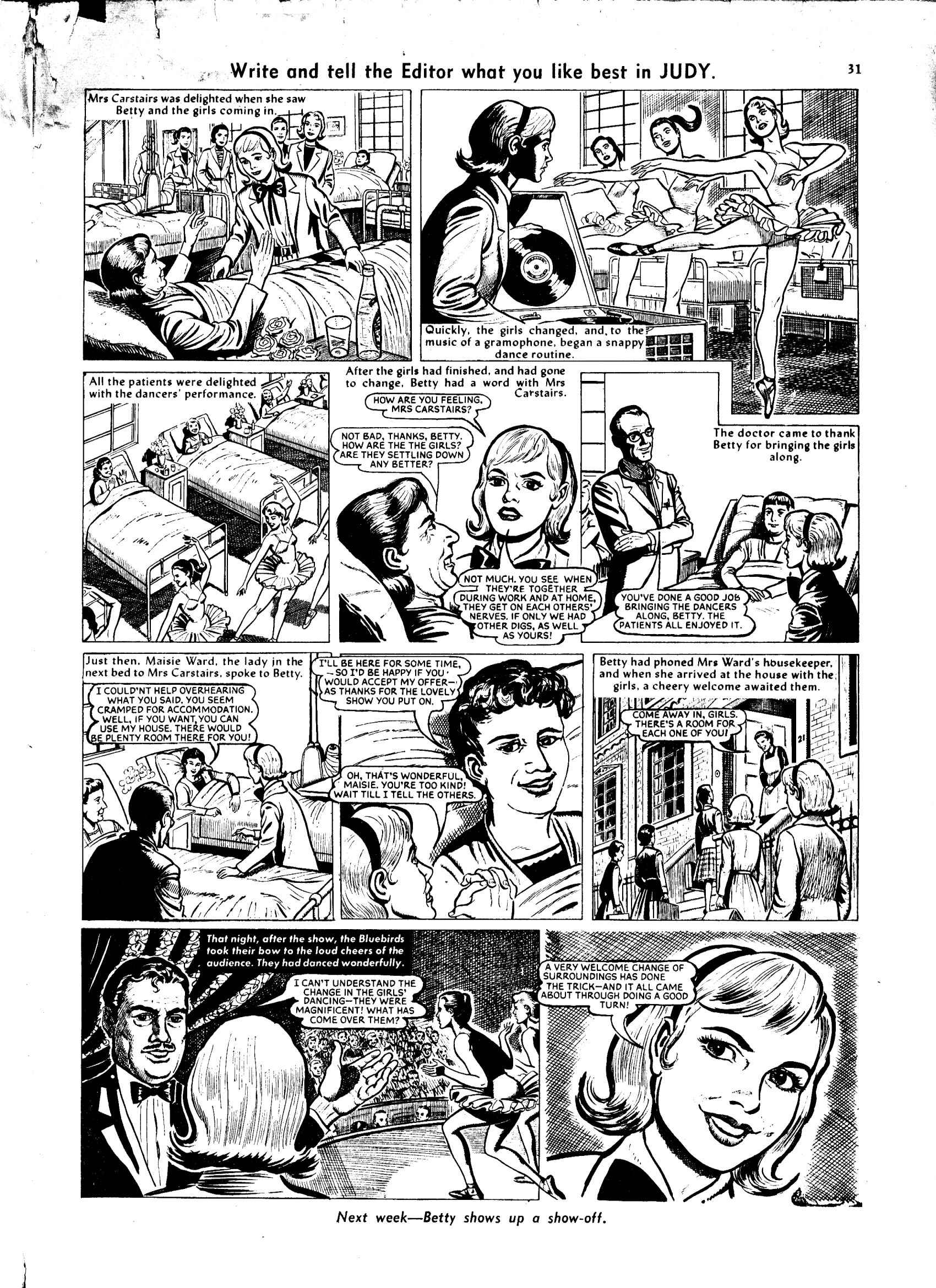 Read online Judy comic -  Issue #63 - 31