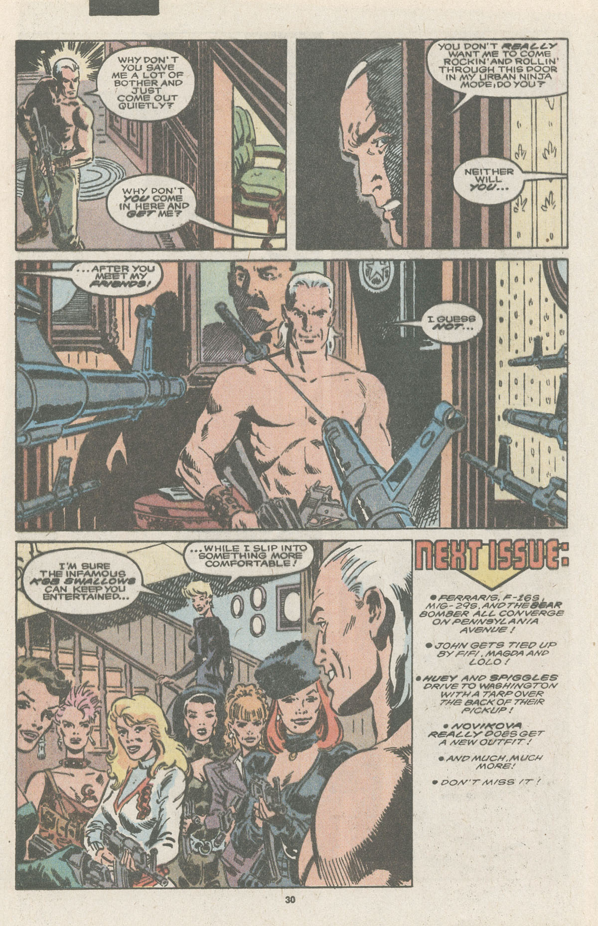 Read online Nth Man the Ultimate Ninja comic -  Issue #11 - 32
