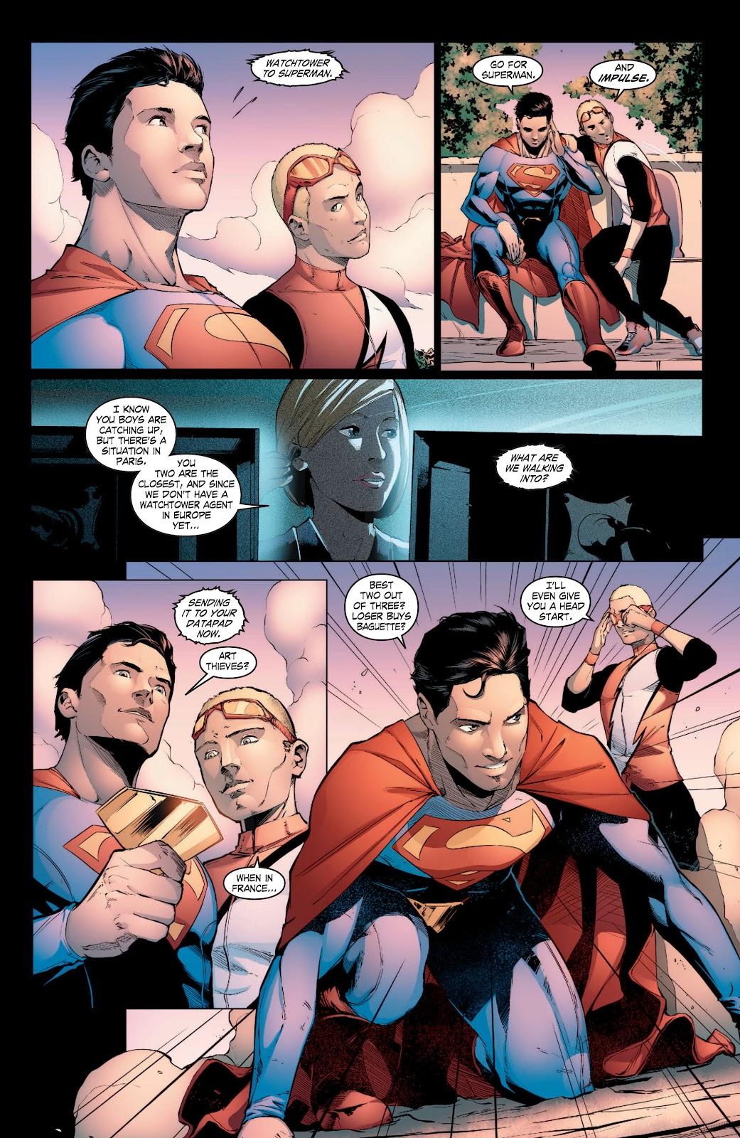 Read online Smallville Season 11 [II] comic -  Issue # TPB 3 - 25