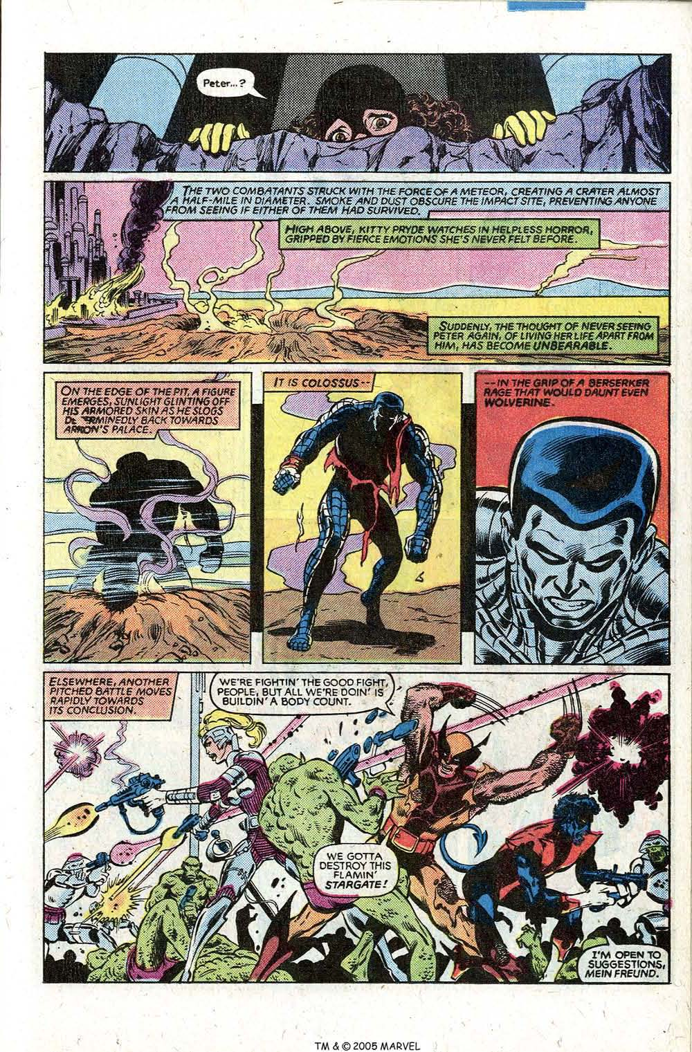 Read online Uncanny X-Men (1963) comic -  Issue # _Annual 5 - 37