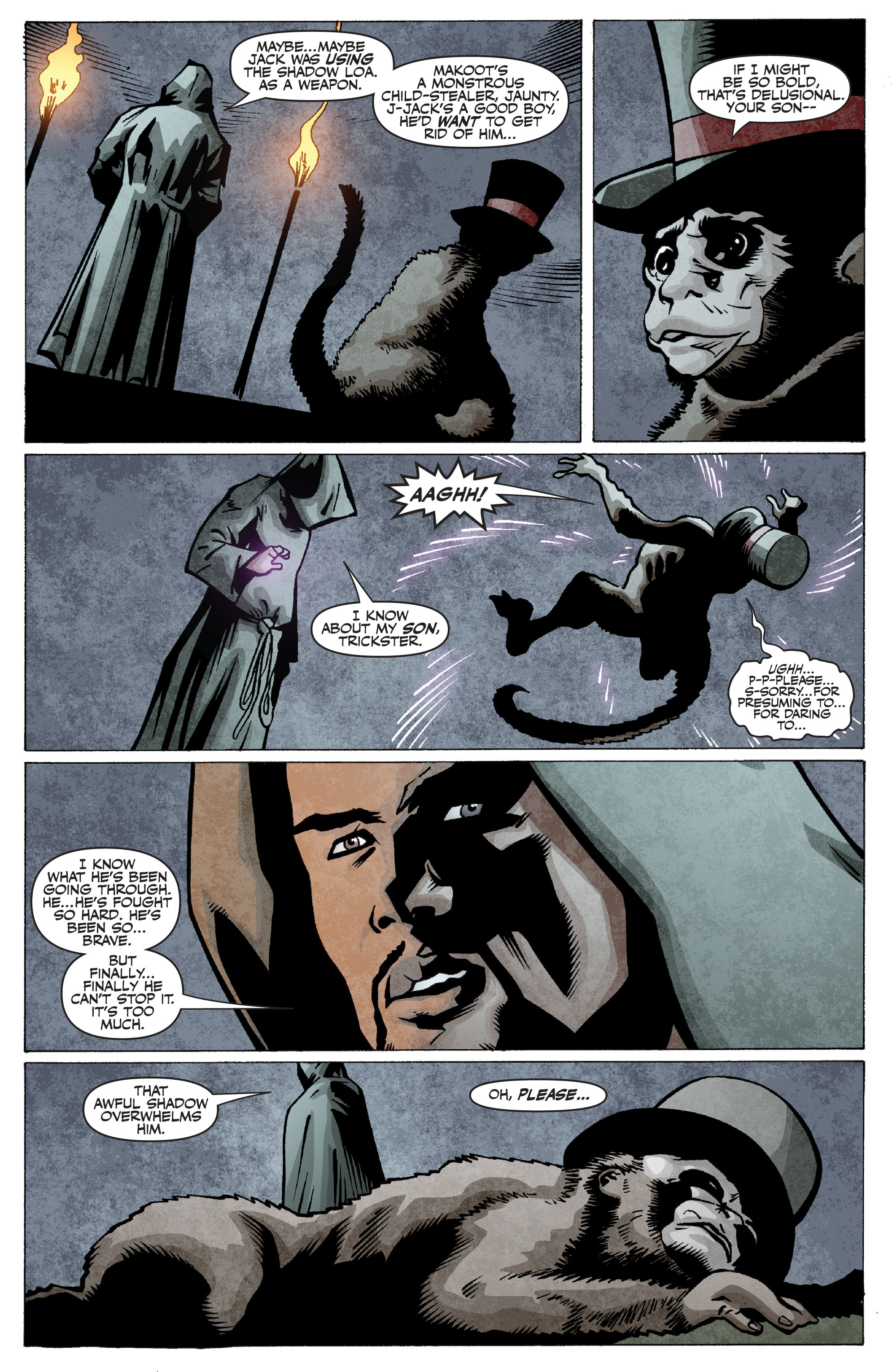 Read online Shadowman: End Times comic -  Issue #2 - 4