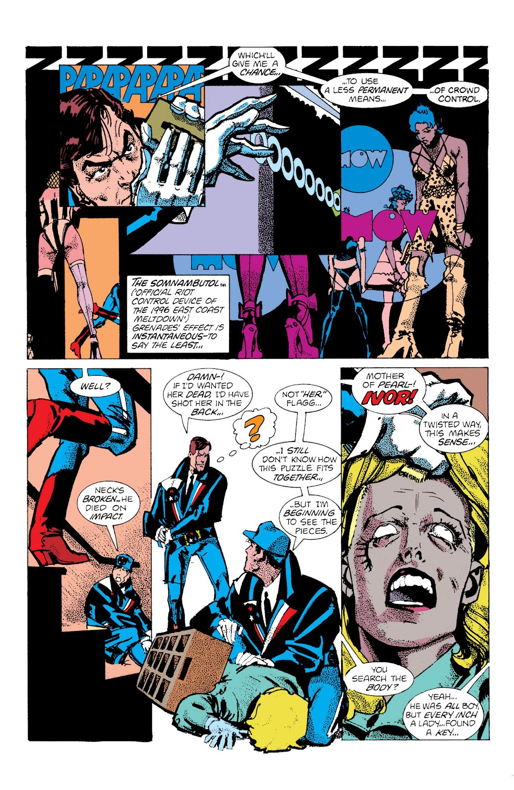 American Flagg! issue Definitive Collection (Part 2) - Page 98