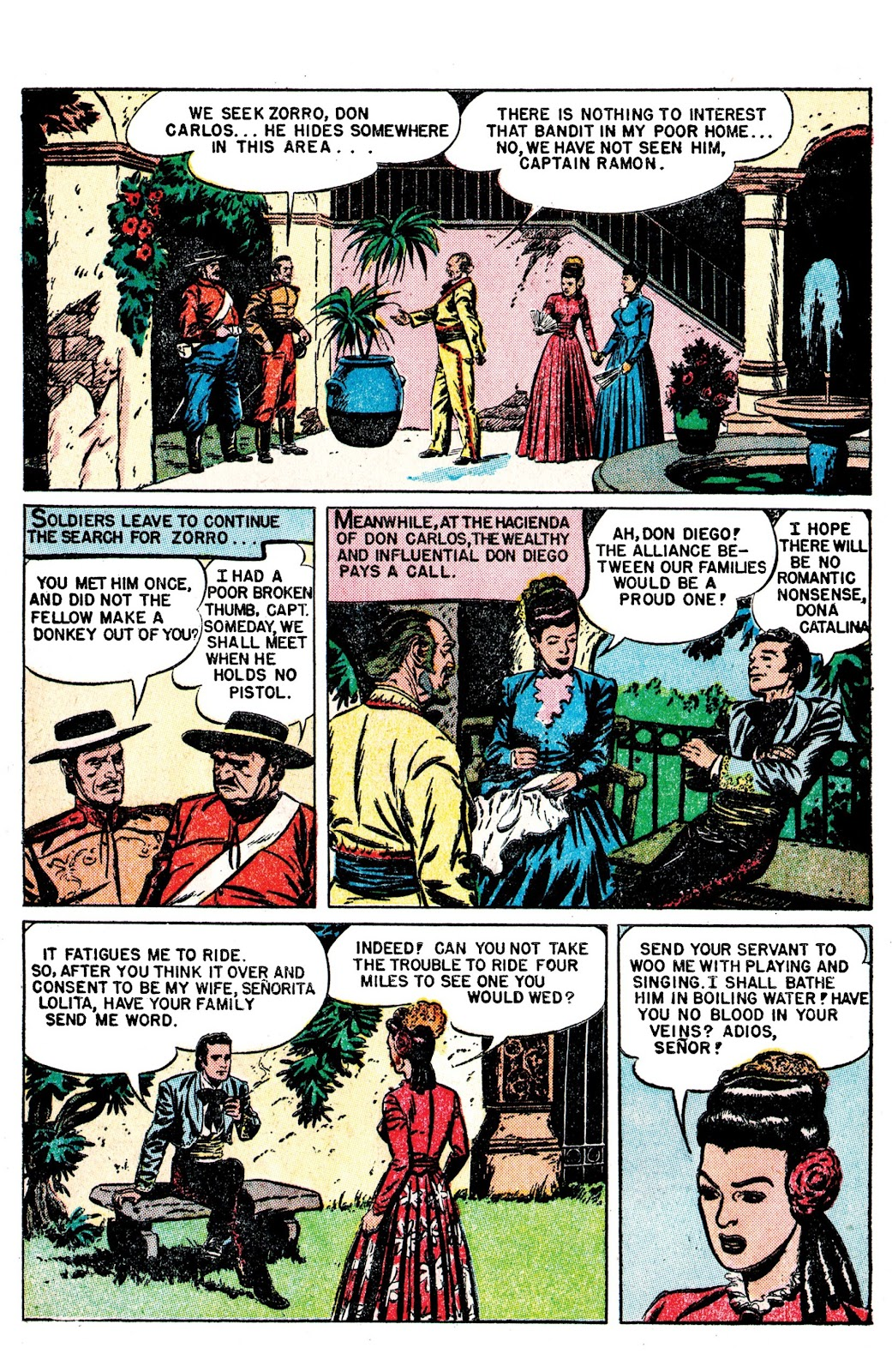 Read online AM Archives: The Mark of Zorro #1 1949 Dell Edition comic -  Issue #1 1949 Dell Edition Full - 4