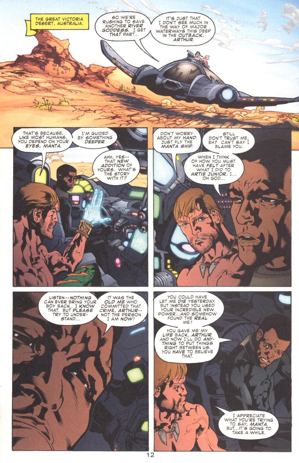 Read online Aquaman (2003) comic -  Issue #9 - 14