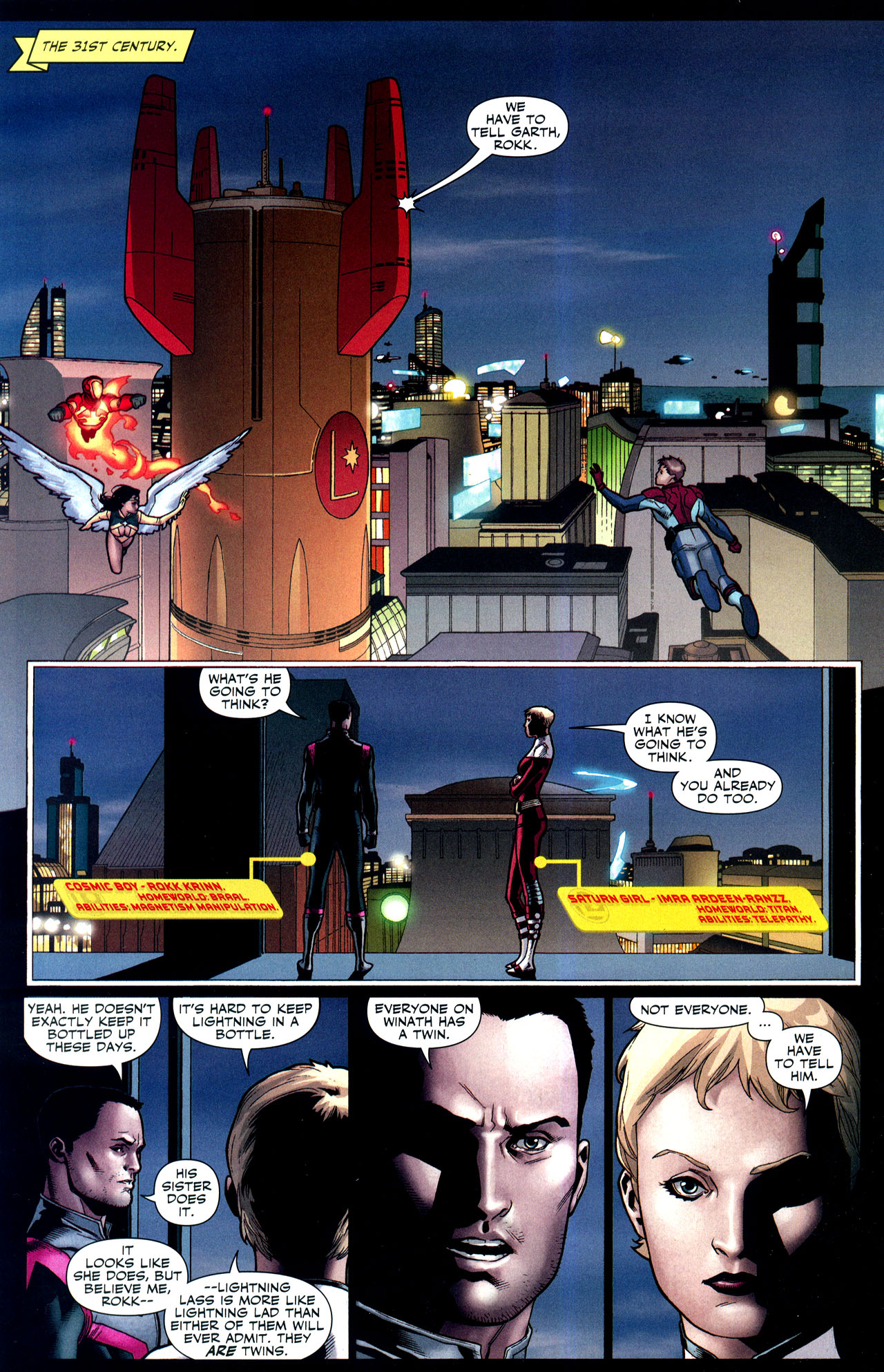 Read online Adventure Comics (2009) comic -  Issue #2 - 21