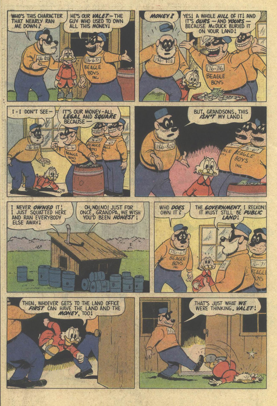 Read online Uncle Scrooge (1953) comic -  Issue #209 - 26