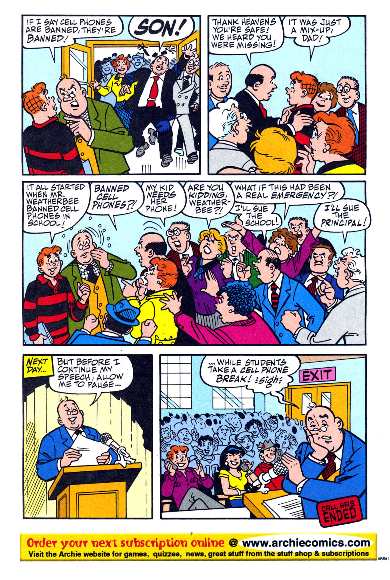 Read online Archie (1960) comic -  Issue #579 - 7