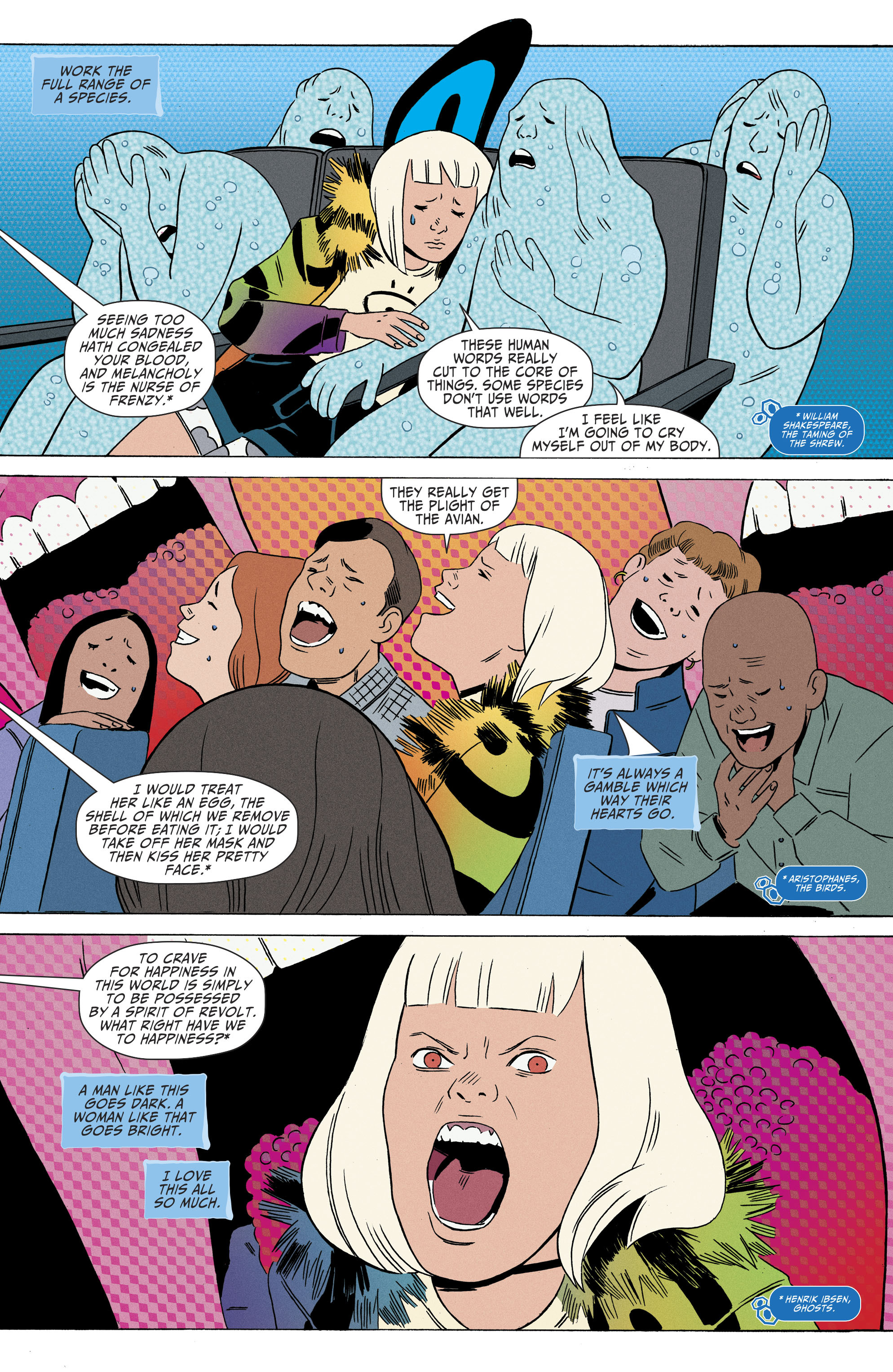 Read online Shade, the Changing Girl comic -  Issue #8 - 15