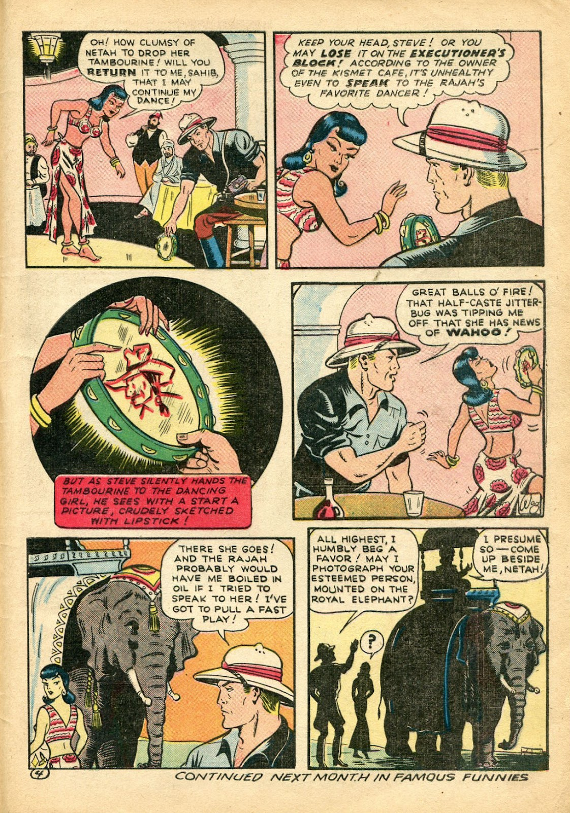 Read online Famous Funnies comic -  Issue #110 - 57