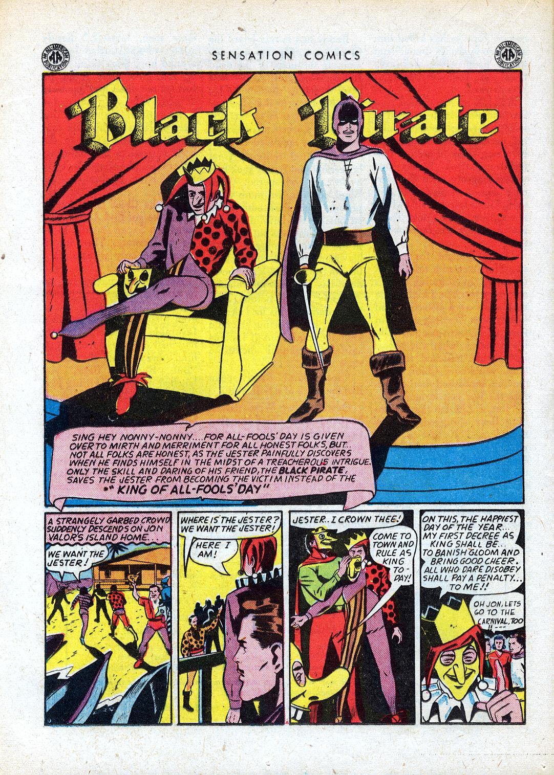 Read online Sensation (Mystery) Comics comic -  Issue #41 - 34