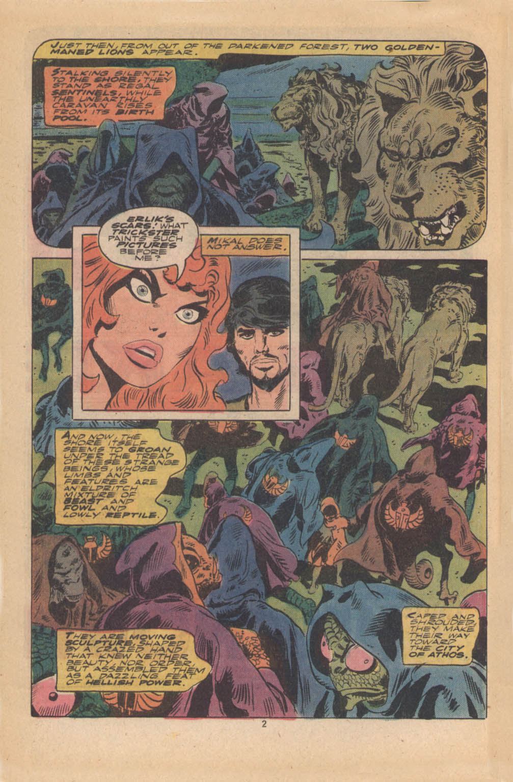 Red Sonja (1977) issue 4 - Page 3