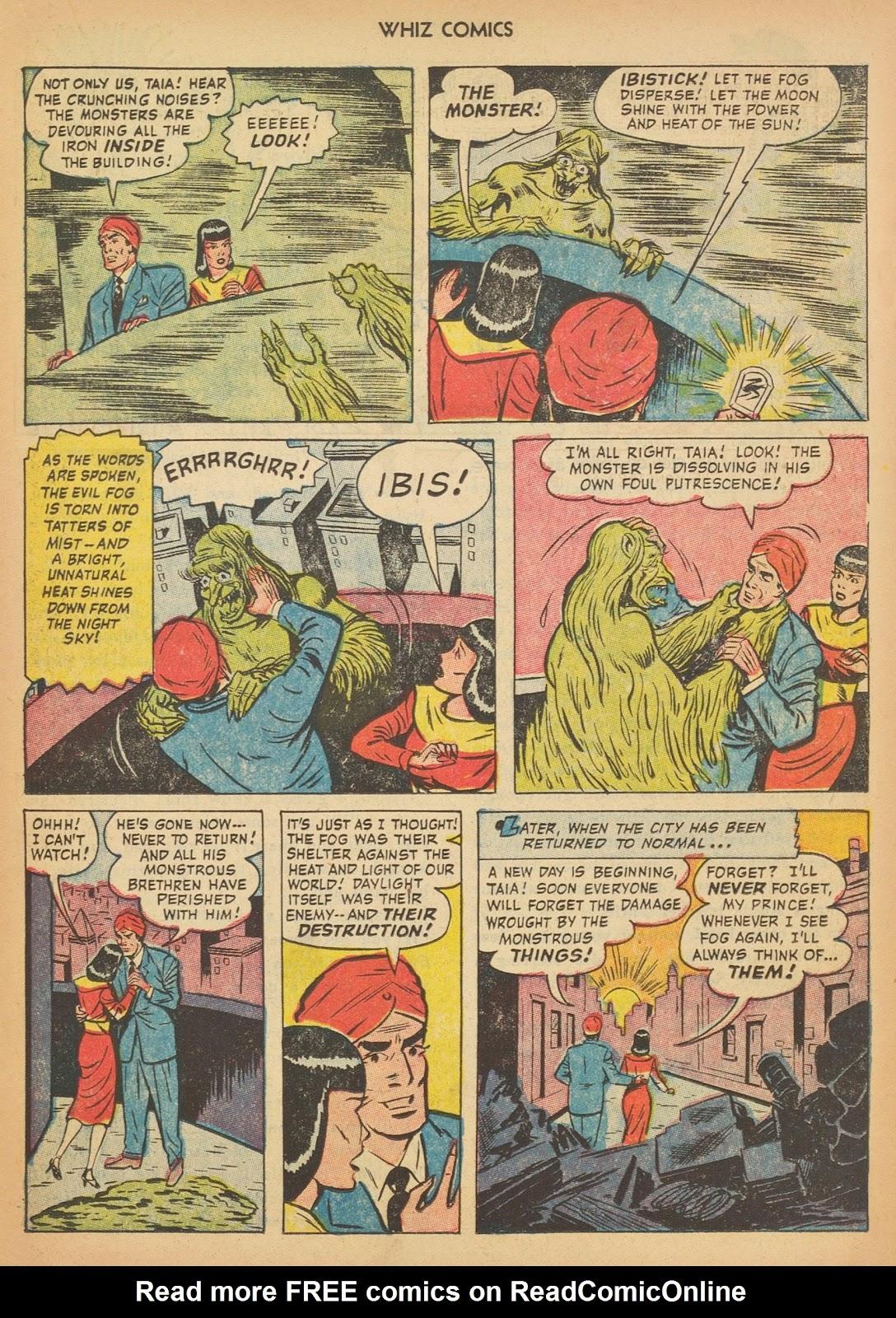 Read online WHIZ Comics comic -  Issue #153 - 15