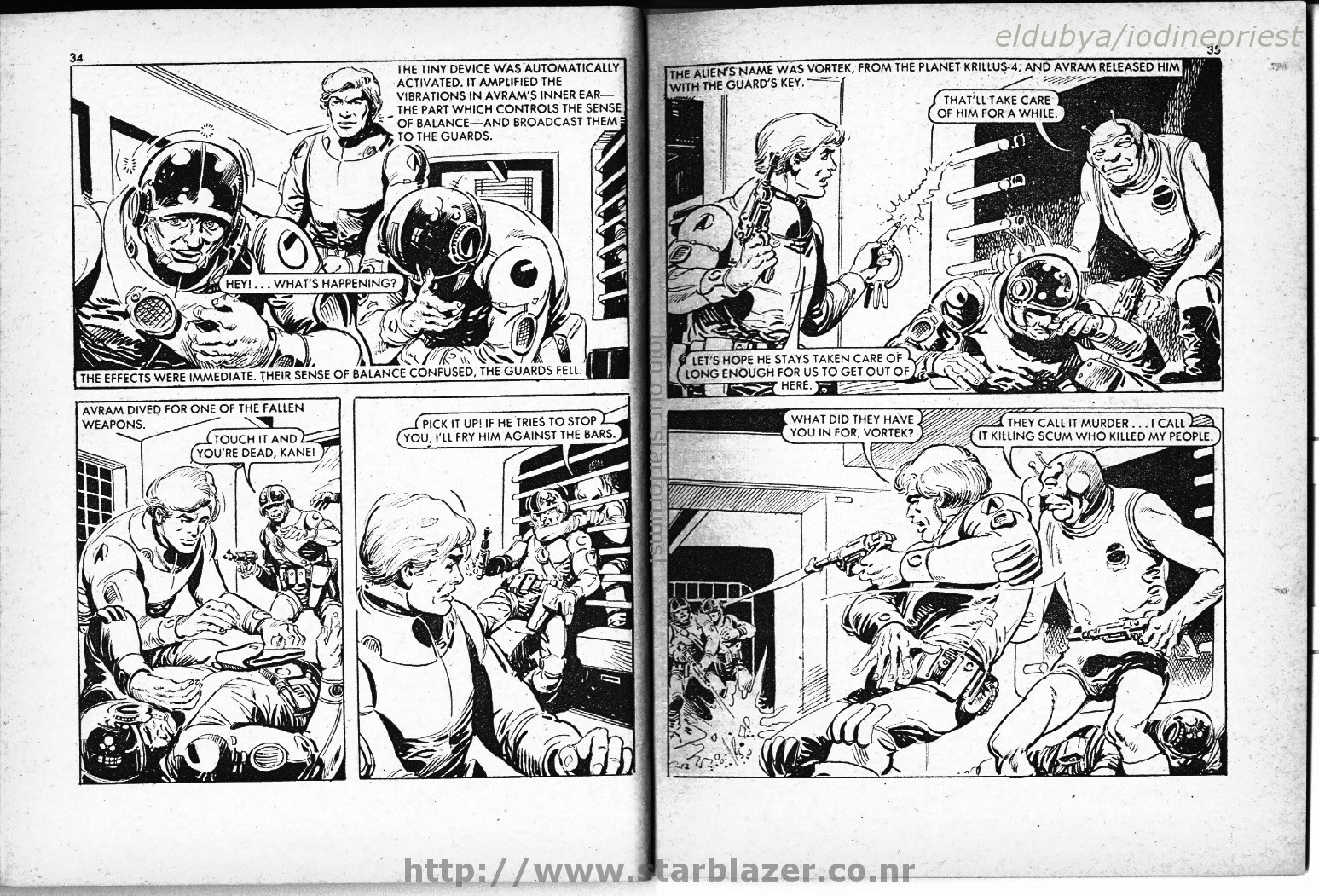 Starblazer issue 65 - Page 19