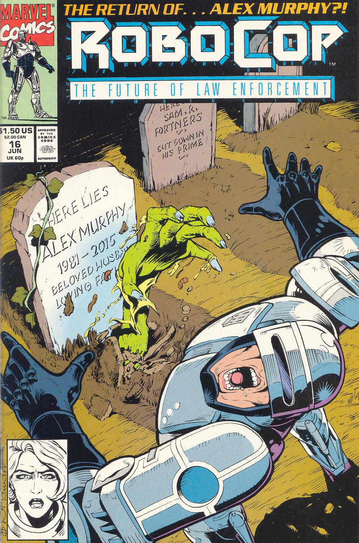 Read online Robocop (1990) comic -  Issue #16 - 1