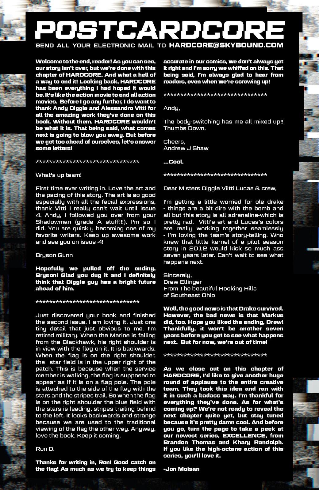 Read online Hardcore comic -  Issue #5 - 23