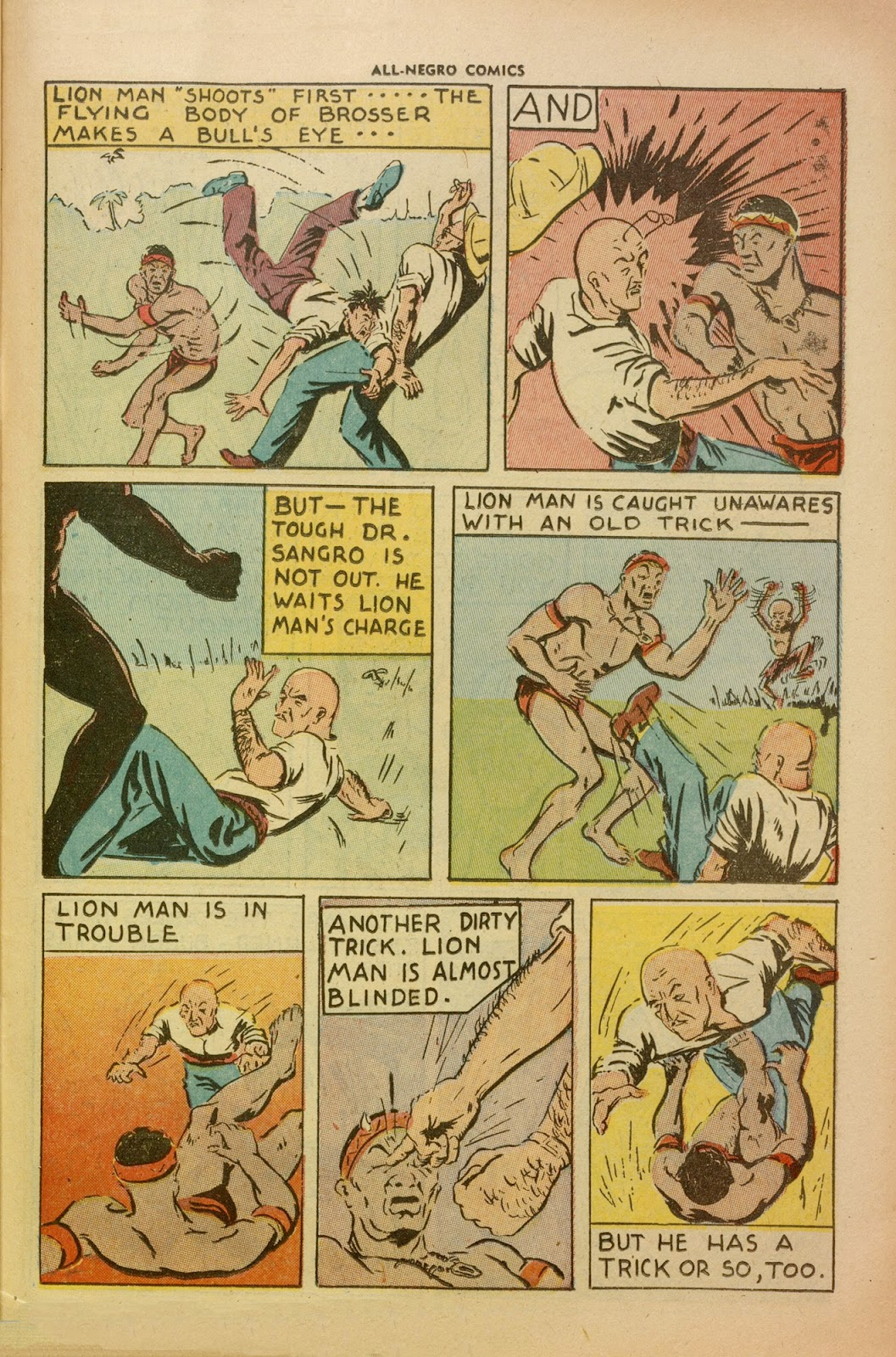 All-Negro Comics issue Full - Page 36