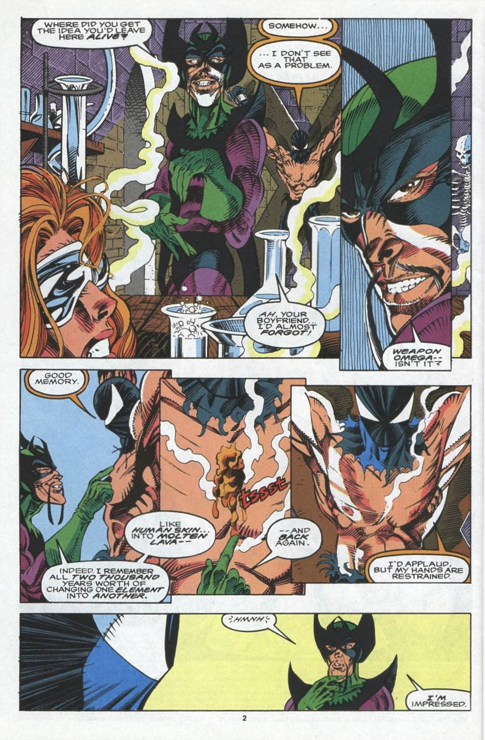 Read online Alpha Flight (1983) comic -  Issue #103 - 3