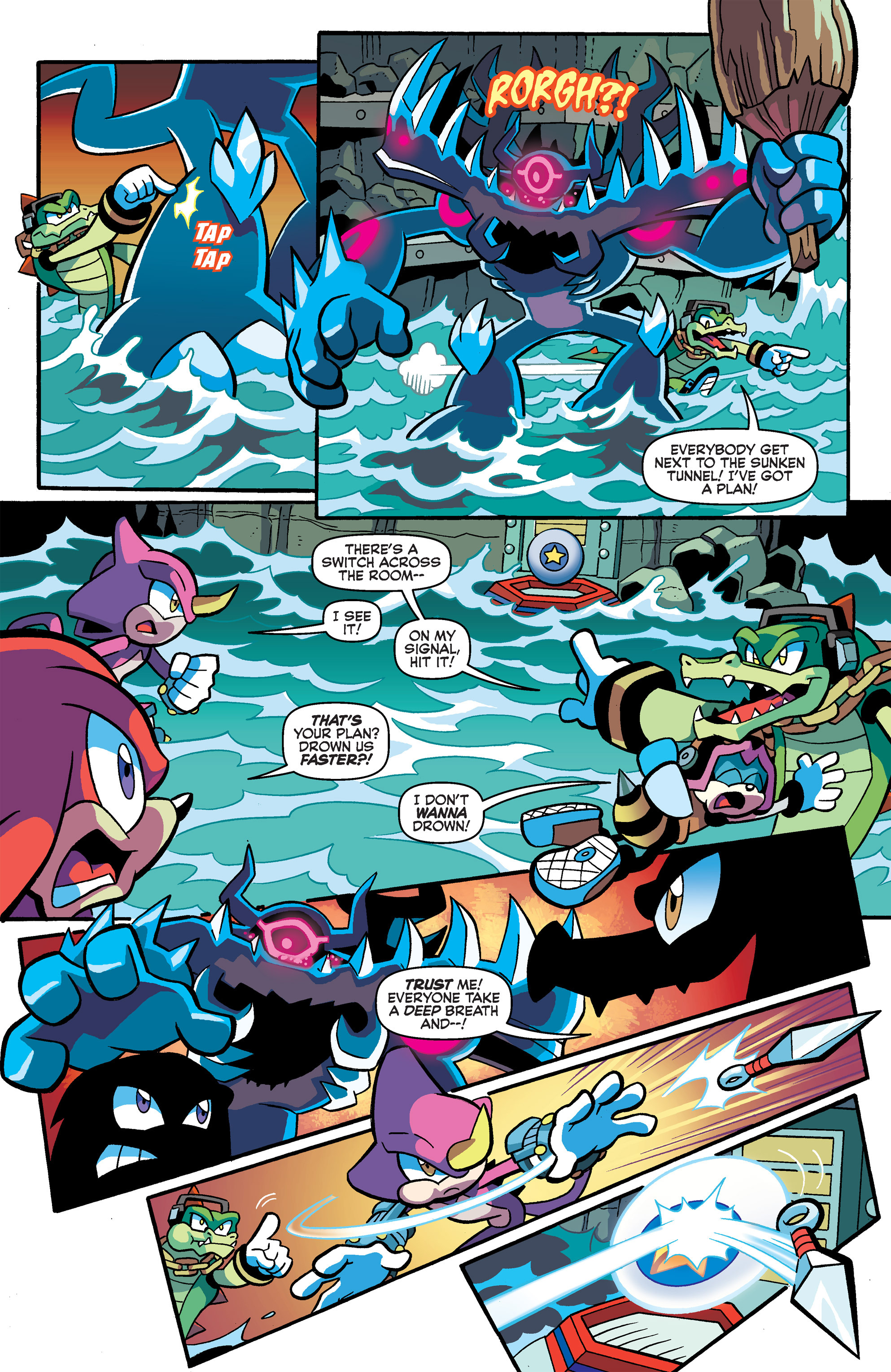 Read online Sonic Universe comic -  Issue #66 - 7